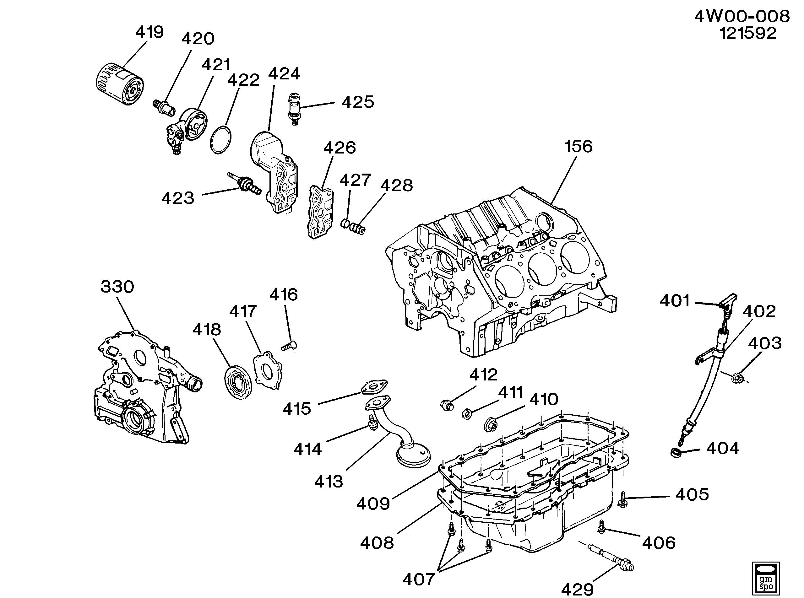 Buick Regal / Spare parts catalog EPC