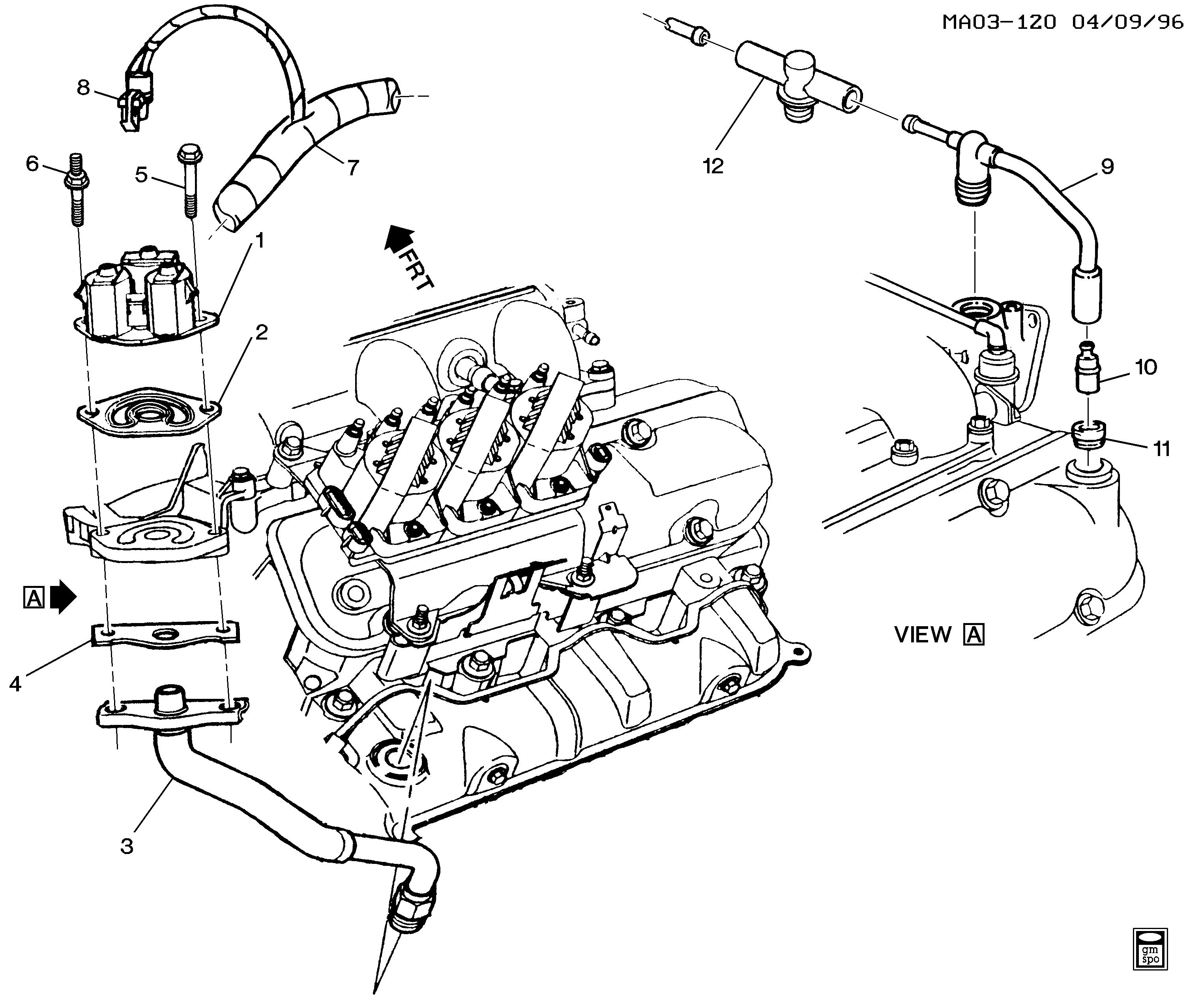 SMP STANDARD EGR Valve for 1990-1992 OLDSMOBILE CUTLASS SUPREME V6-3.1L