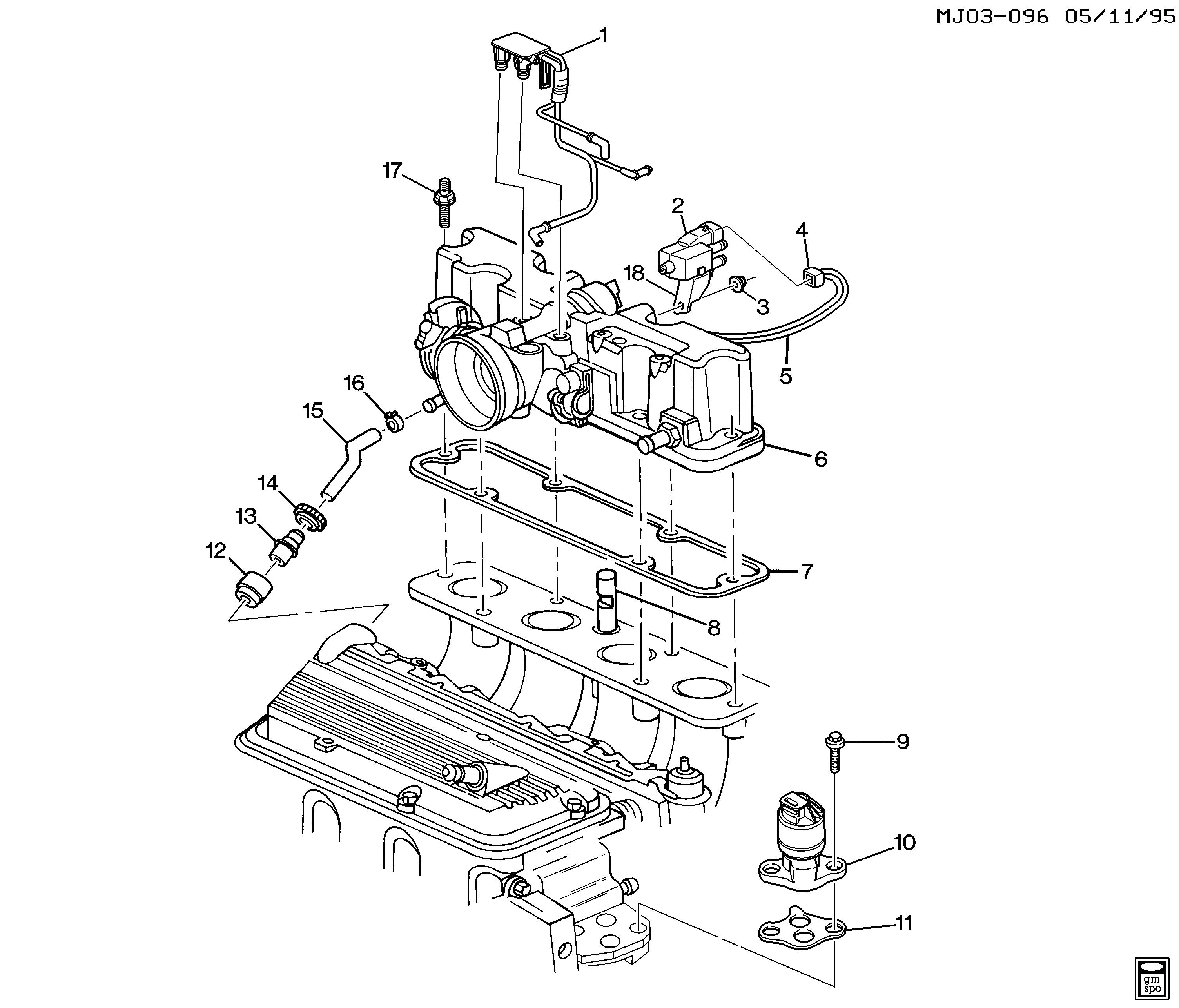 ACDelco CV900C PCV Valve
