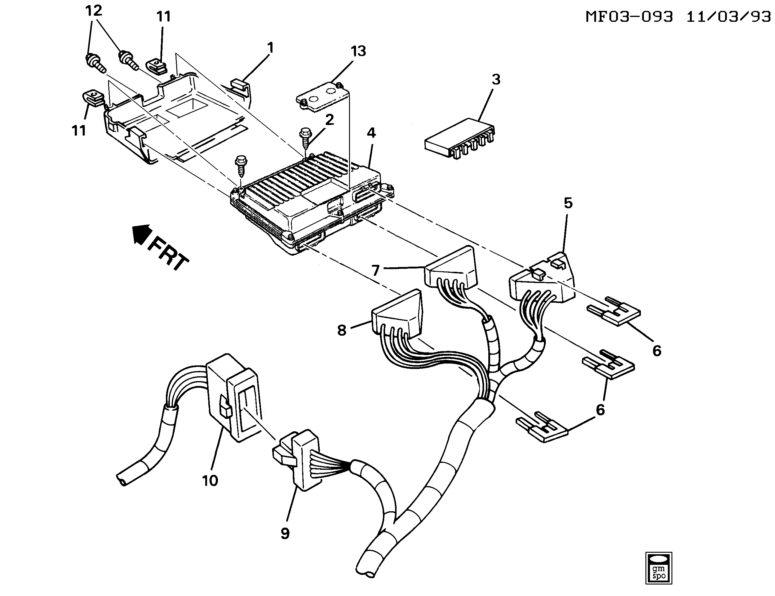 Wiring Harnes For 93 Camaro