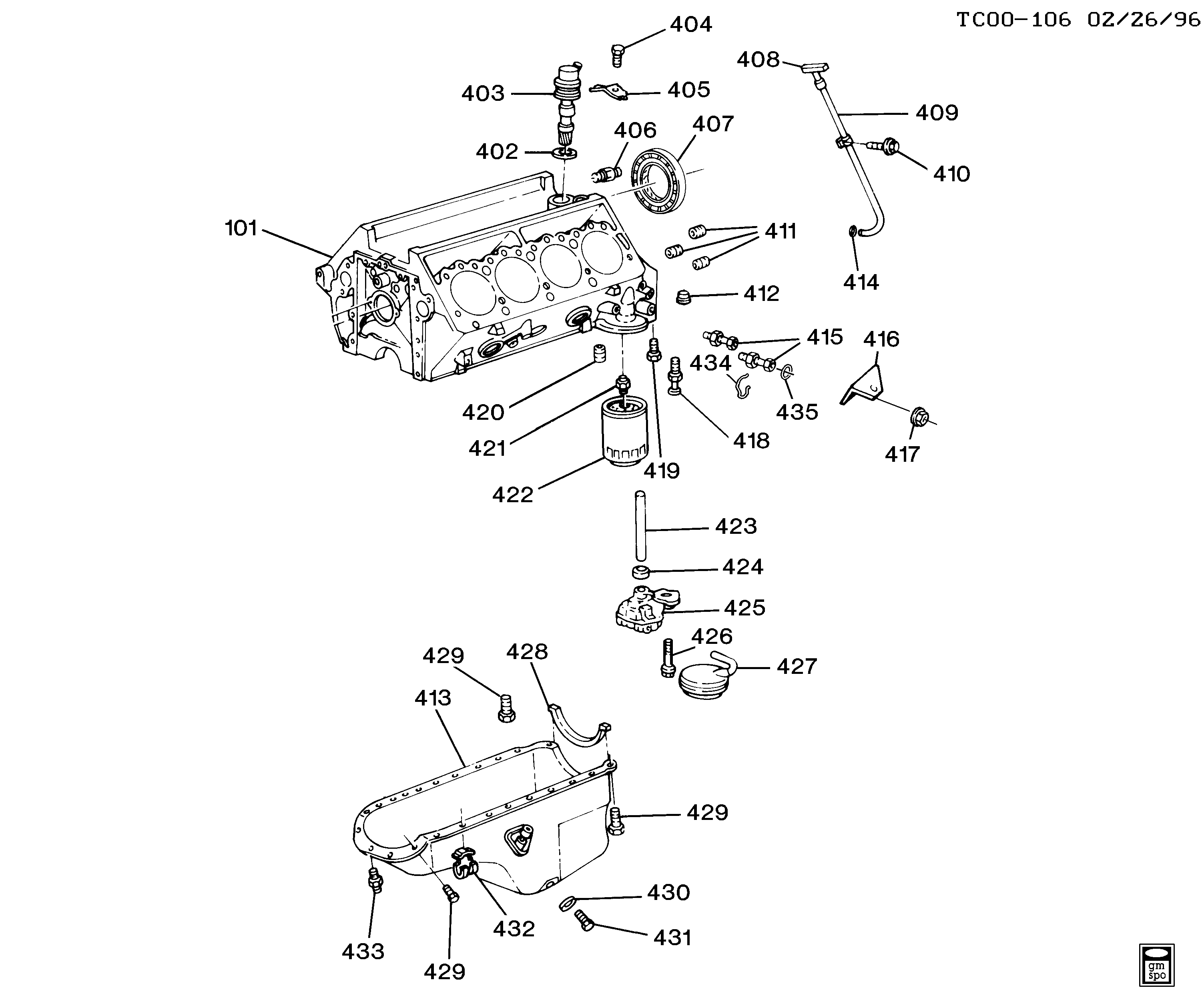 6 5 Diesel Exhaust System Diagram Great Installation Of Wiring Gm Chevy Engine Parts Library Rh 43 Budoshop4you De 4 Inch