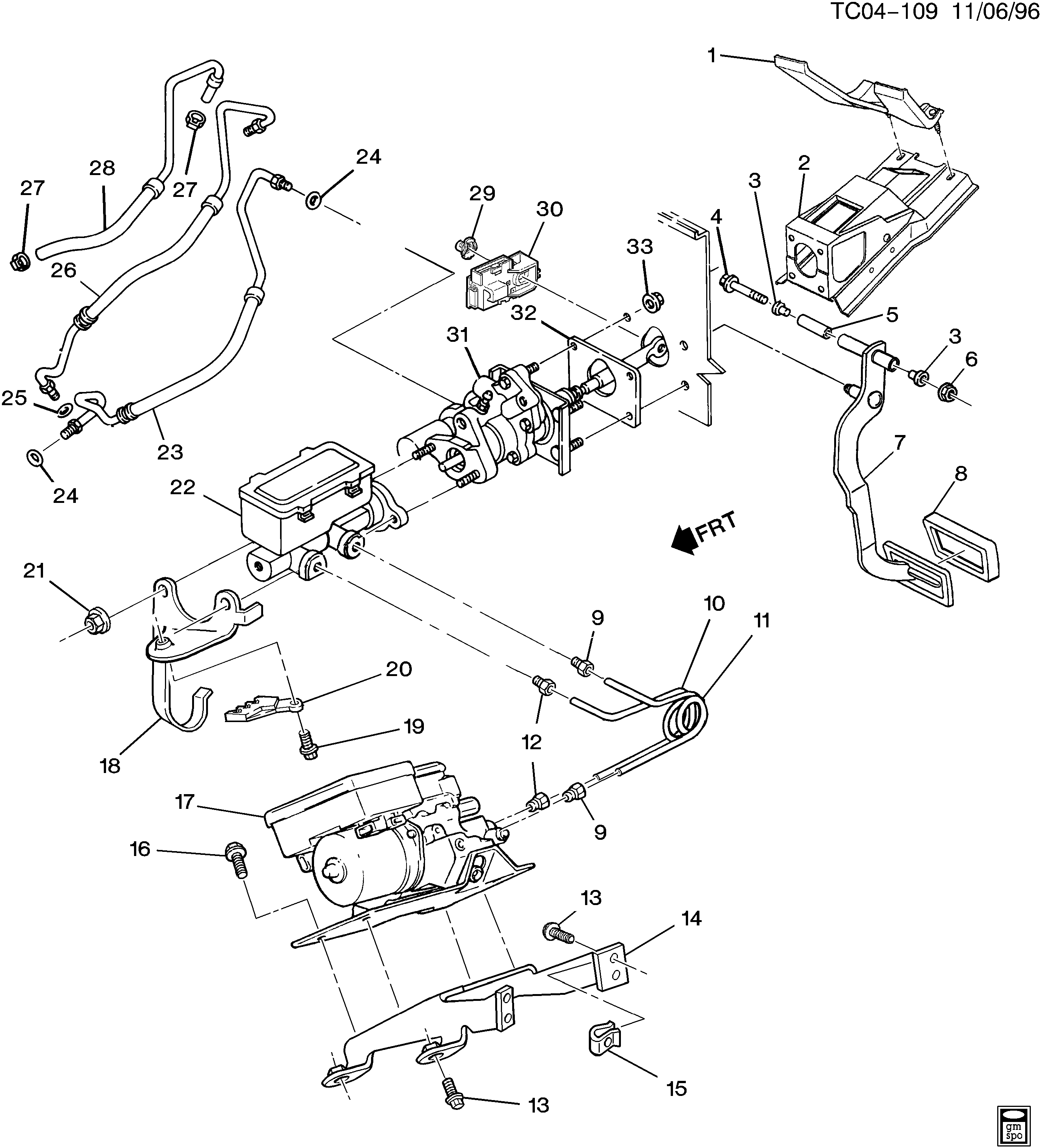 The Diagrams I Have Starting With The Basic Chevy Hydroboost System