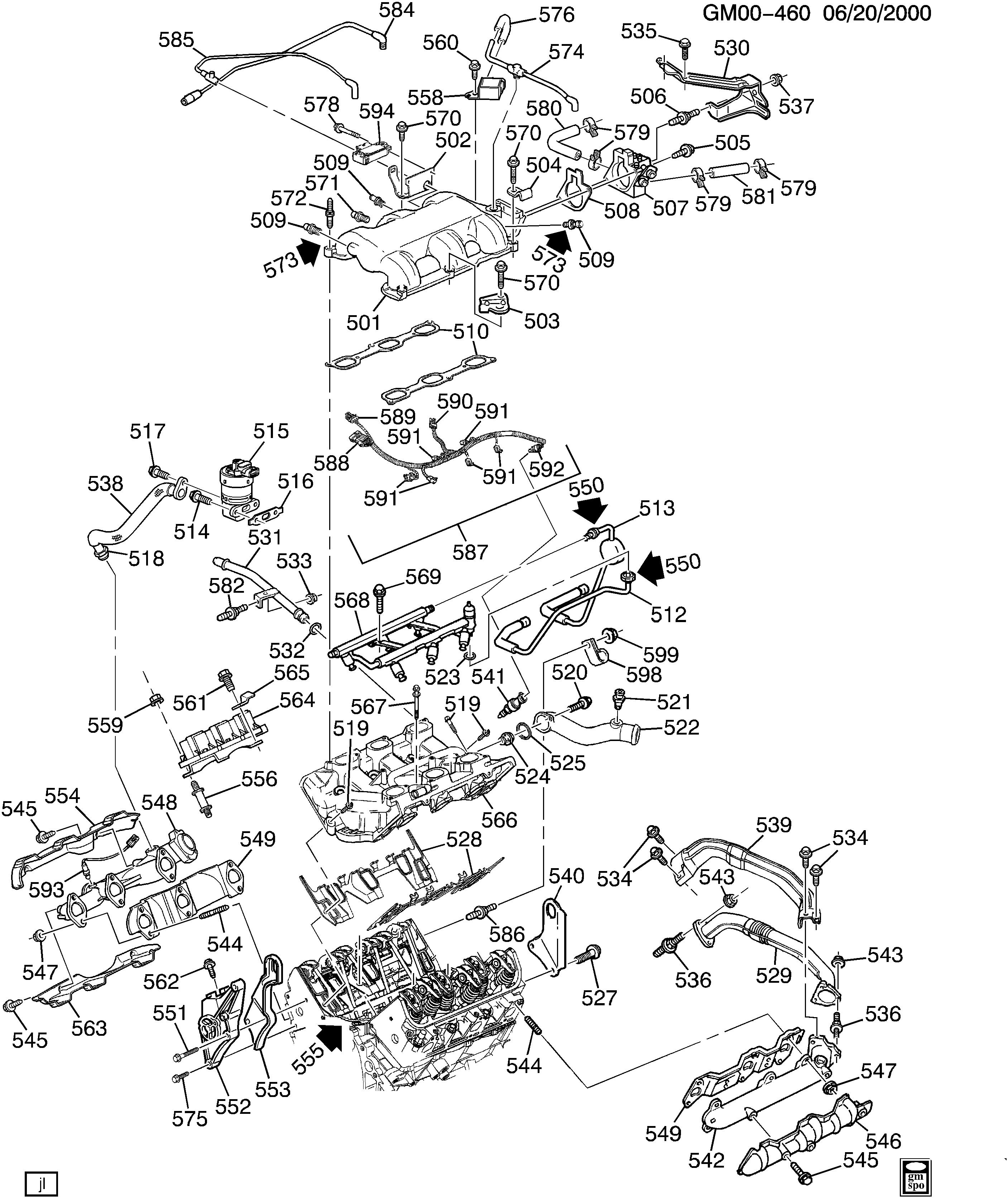 pontiac grand am n engine asm 3 4l v6 part 5 manifolds fuel Mustang II Mach 1 n engine asm 3 4l v6 part 5 manifolds fuel related parts