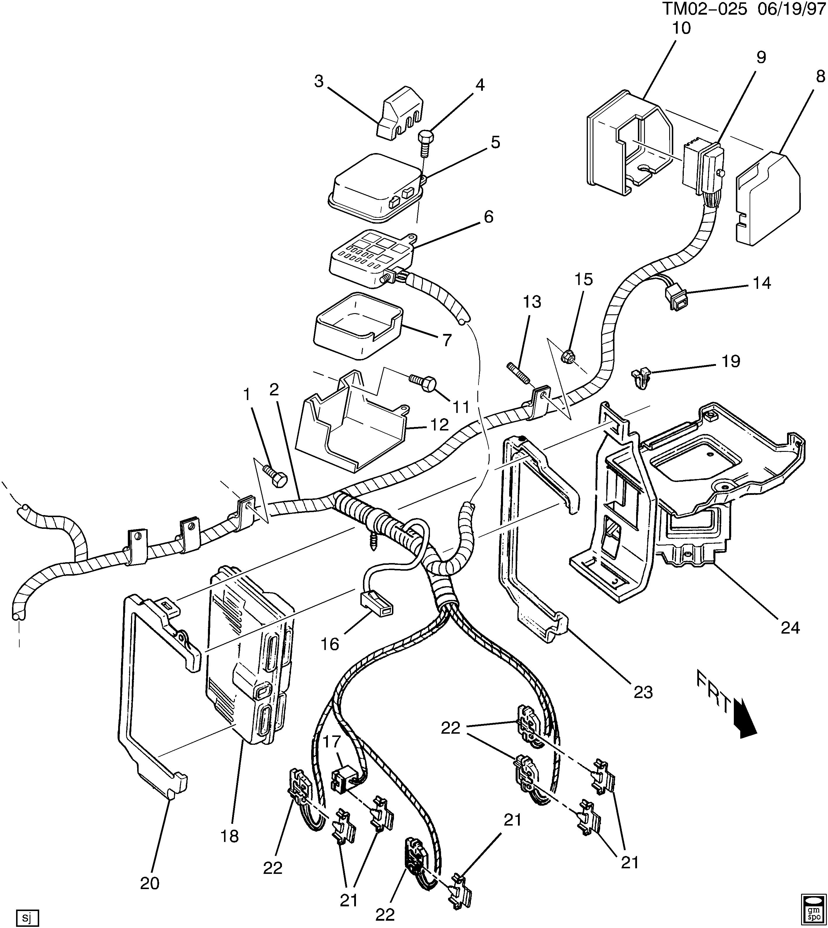 bas tracker wiring harnes