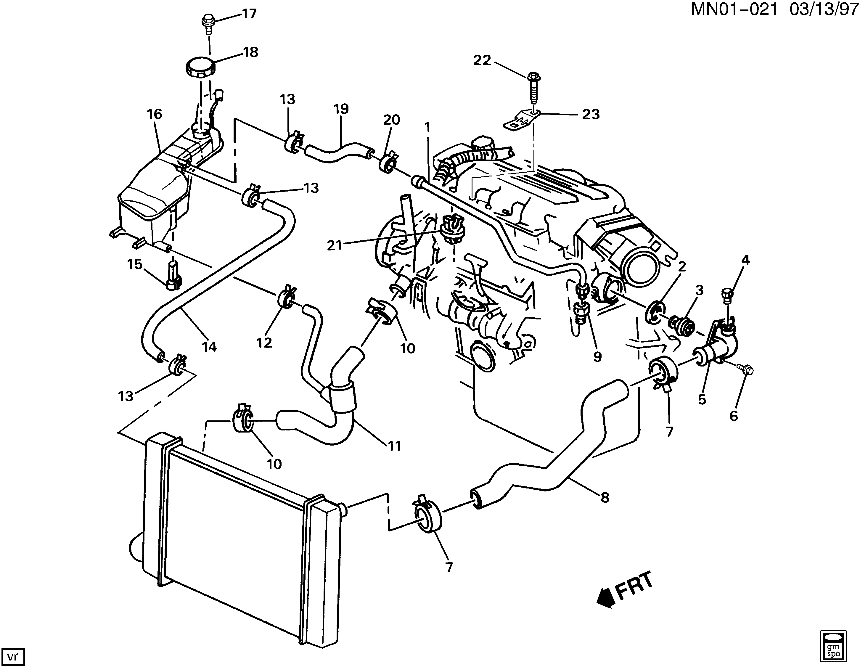 1995 Pontiac Sunfire 2 2 Engine Diagram - Wiring Diagram ...