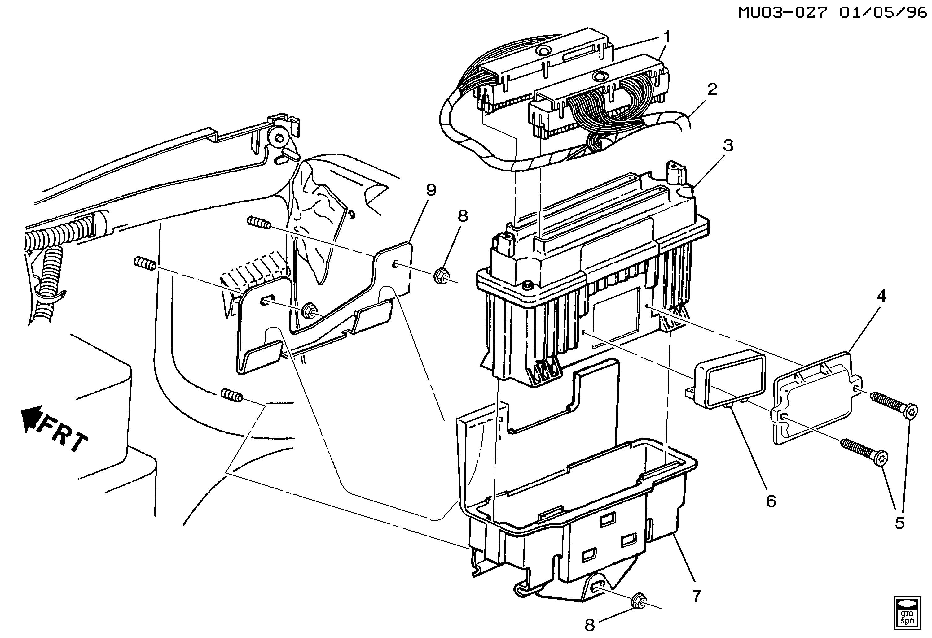 pontiac trans sport wiring diagram pontiac trans sport u p c m module   wiring harness  la1 3 4e  pontiac trans sport u p c m module