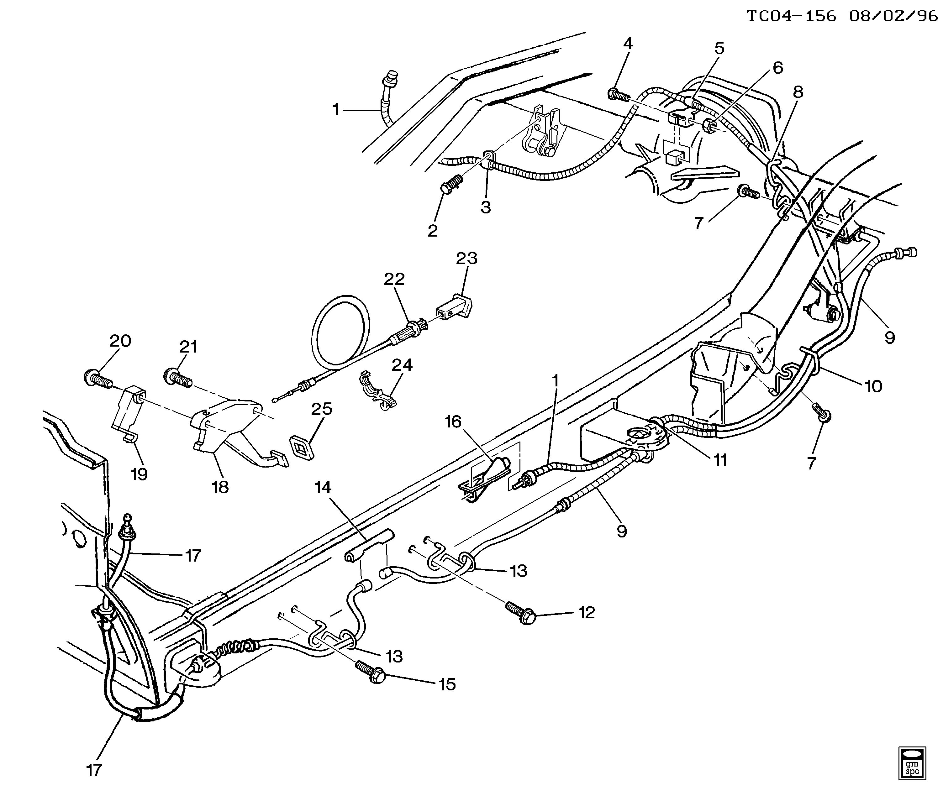 2000 blazer steering diagram