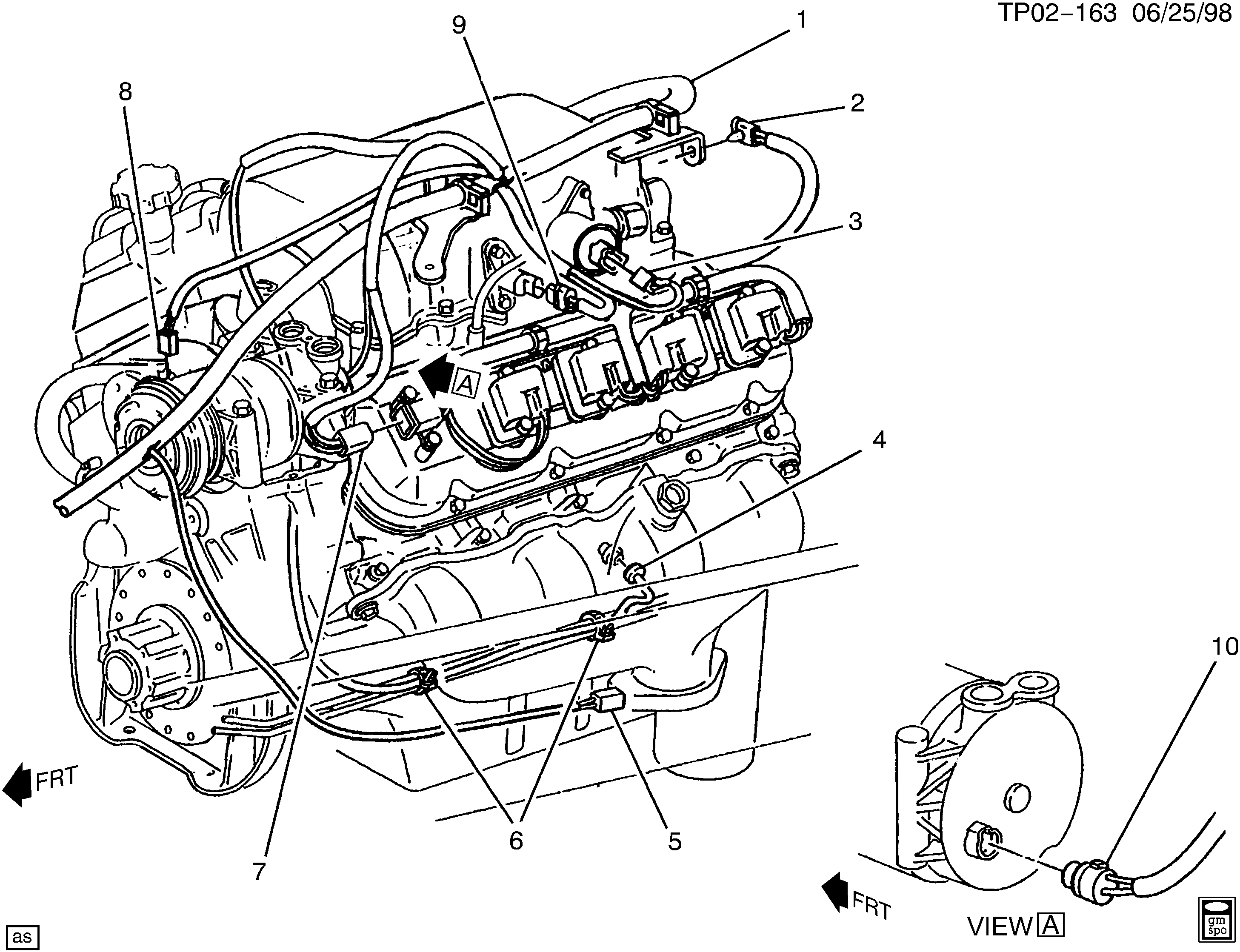 p30 van  engine part 4  u0026gt  chevrolet epc