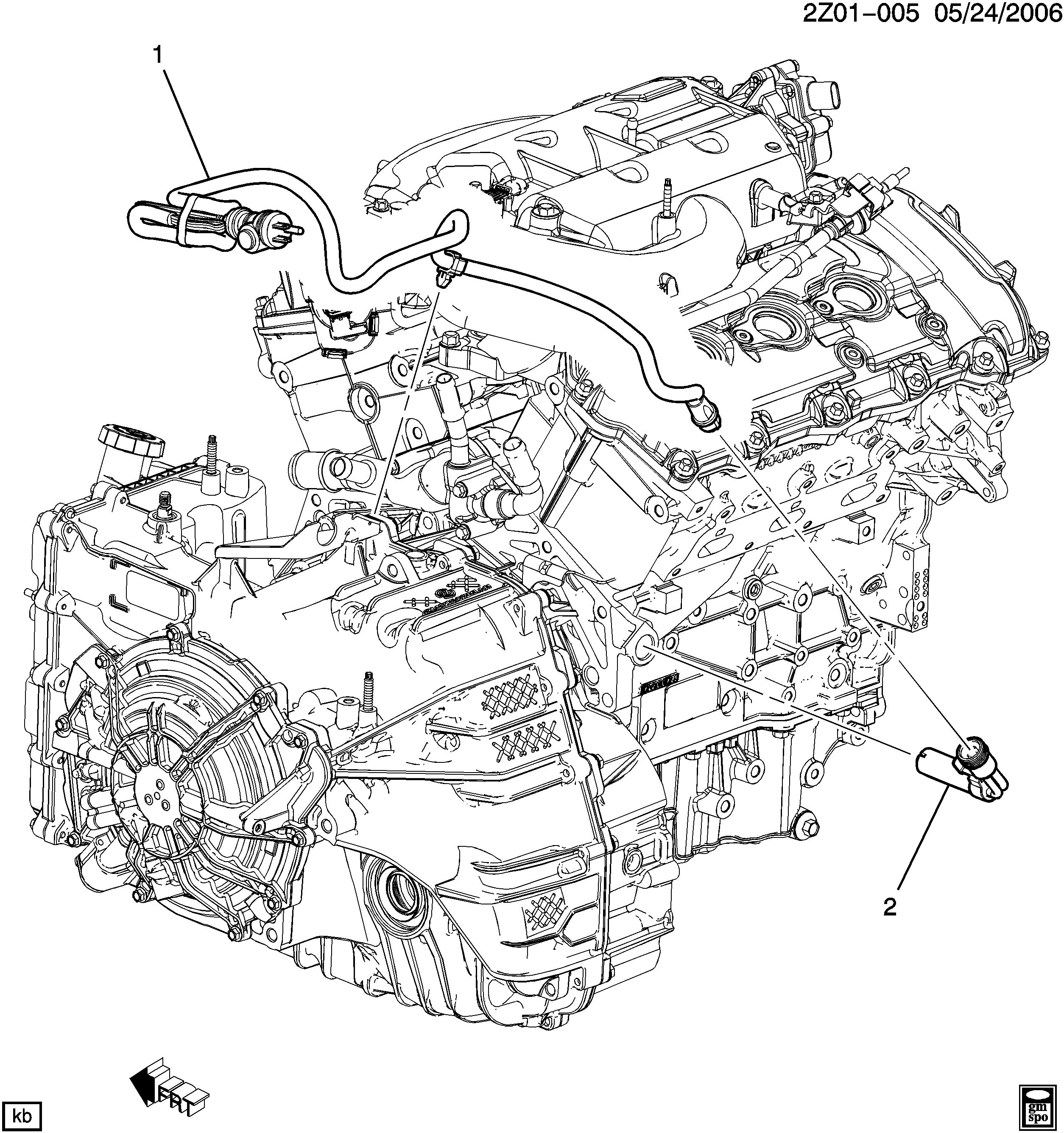 Pontiac G6 Engine Diagram - Wiring Diagram