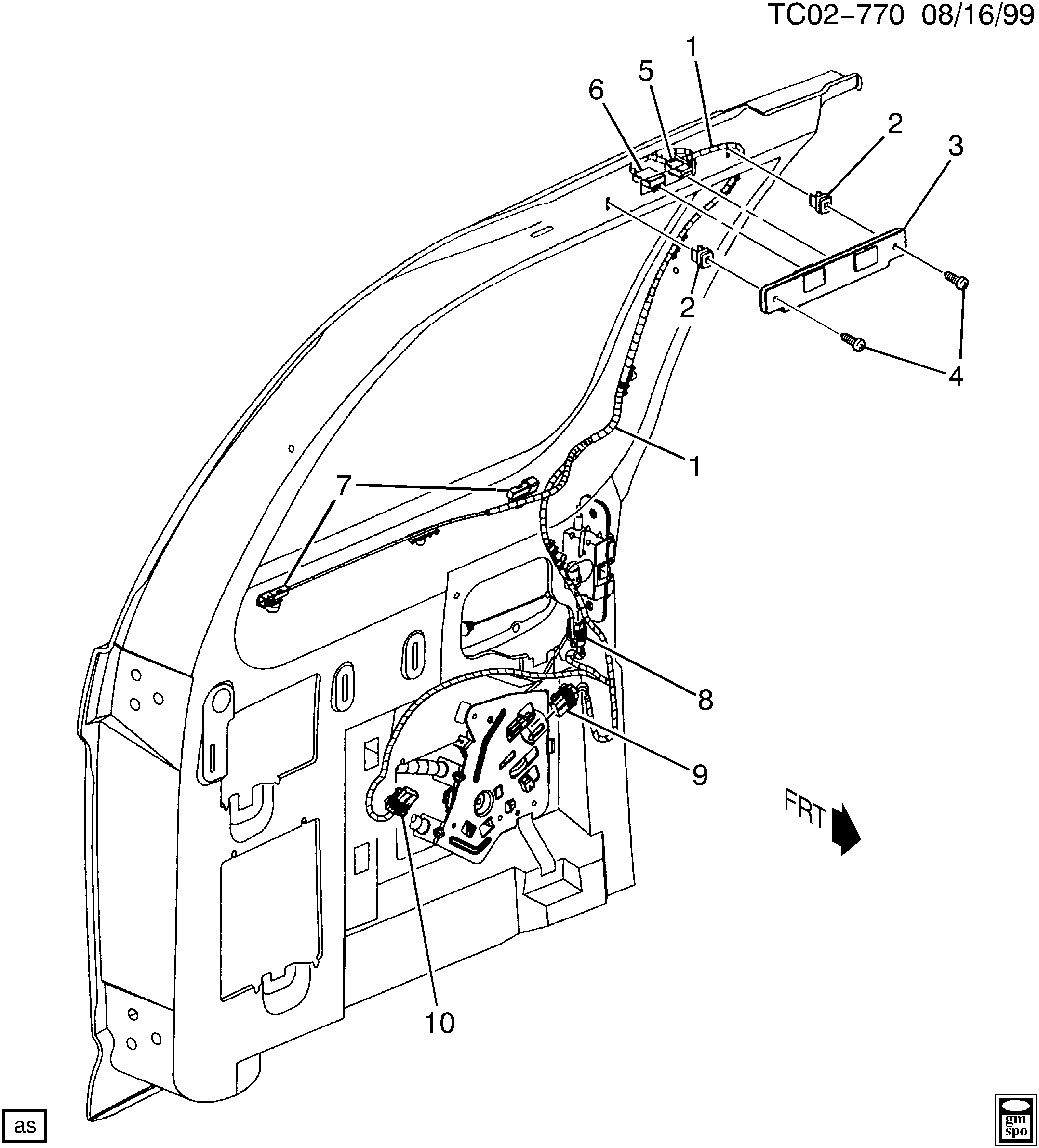 GMC SIERRA 1500 - 03,43,53 Bodystyle (2WD) / Spare parts catalog EPC