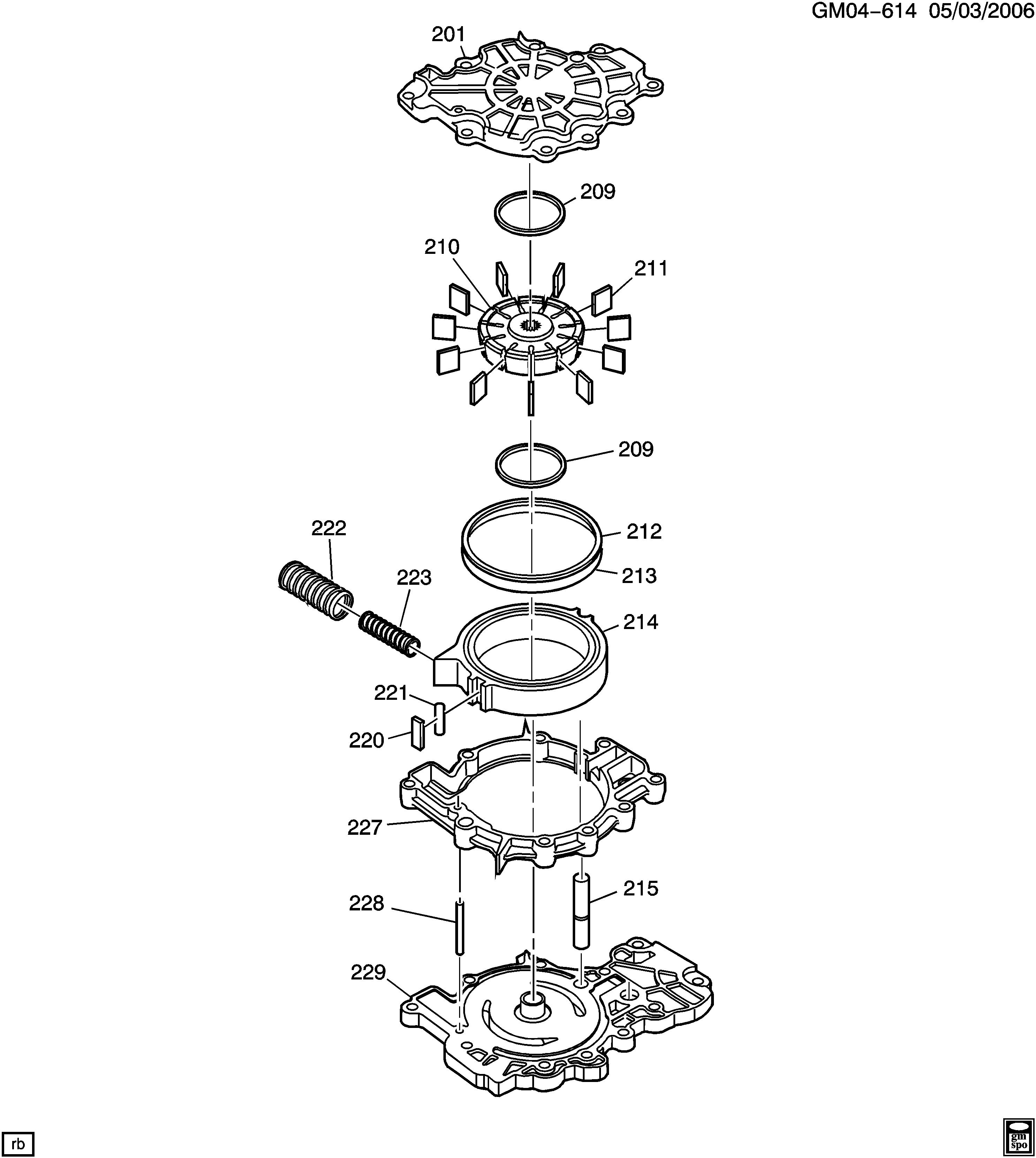 pontiac montana sv6 (awd) / spare parts catalog epc