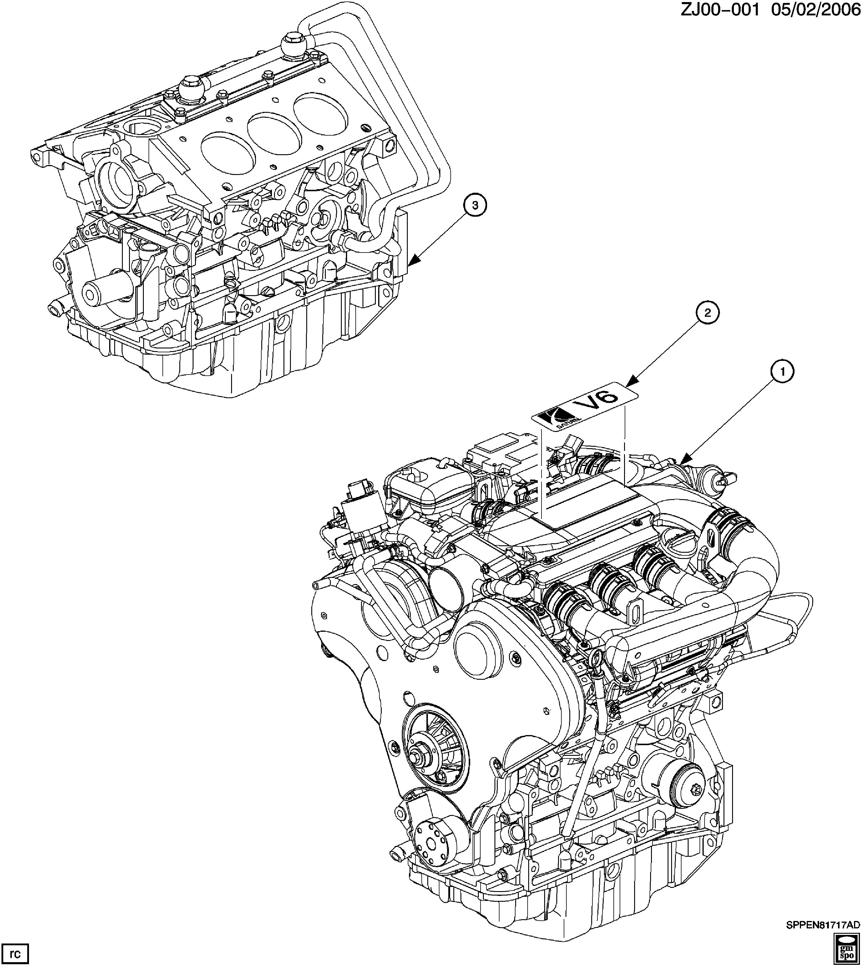 [SCHEMATICS_48YU]  Saturn L-Series - J ENGINE ASM & PARTIAL ENGINE (L81/3.0R) > EPC Online >  Nemiga.com | L81 Engine Diagram |  | nemigaparts.com