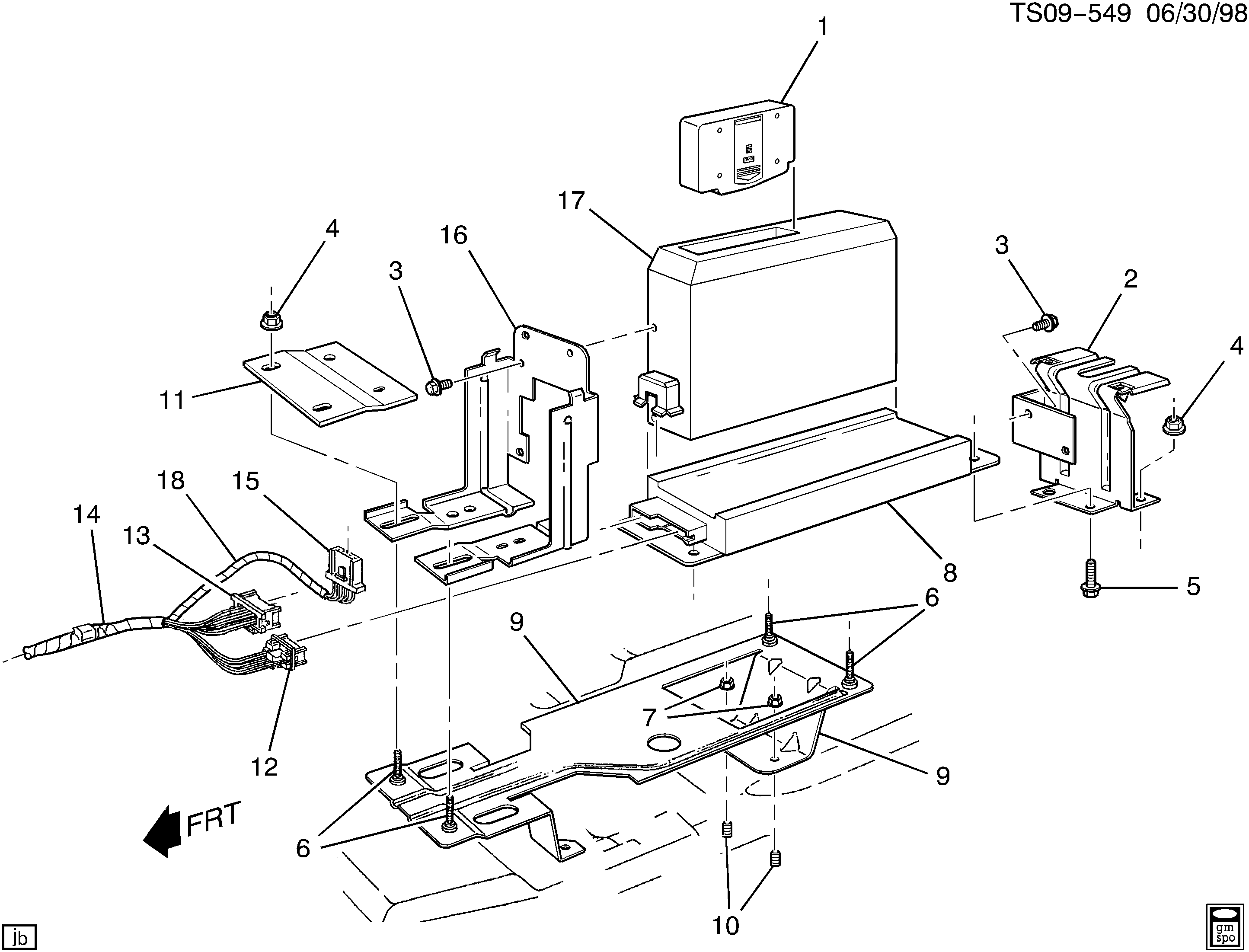Delco Amplifier 15026992