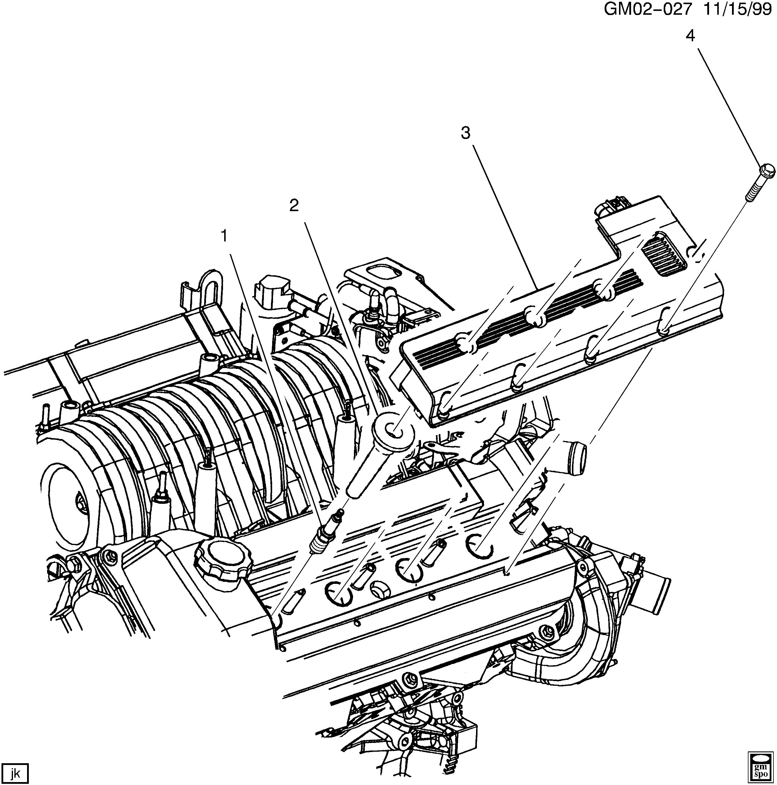 cadillac spark plug wiring diagram