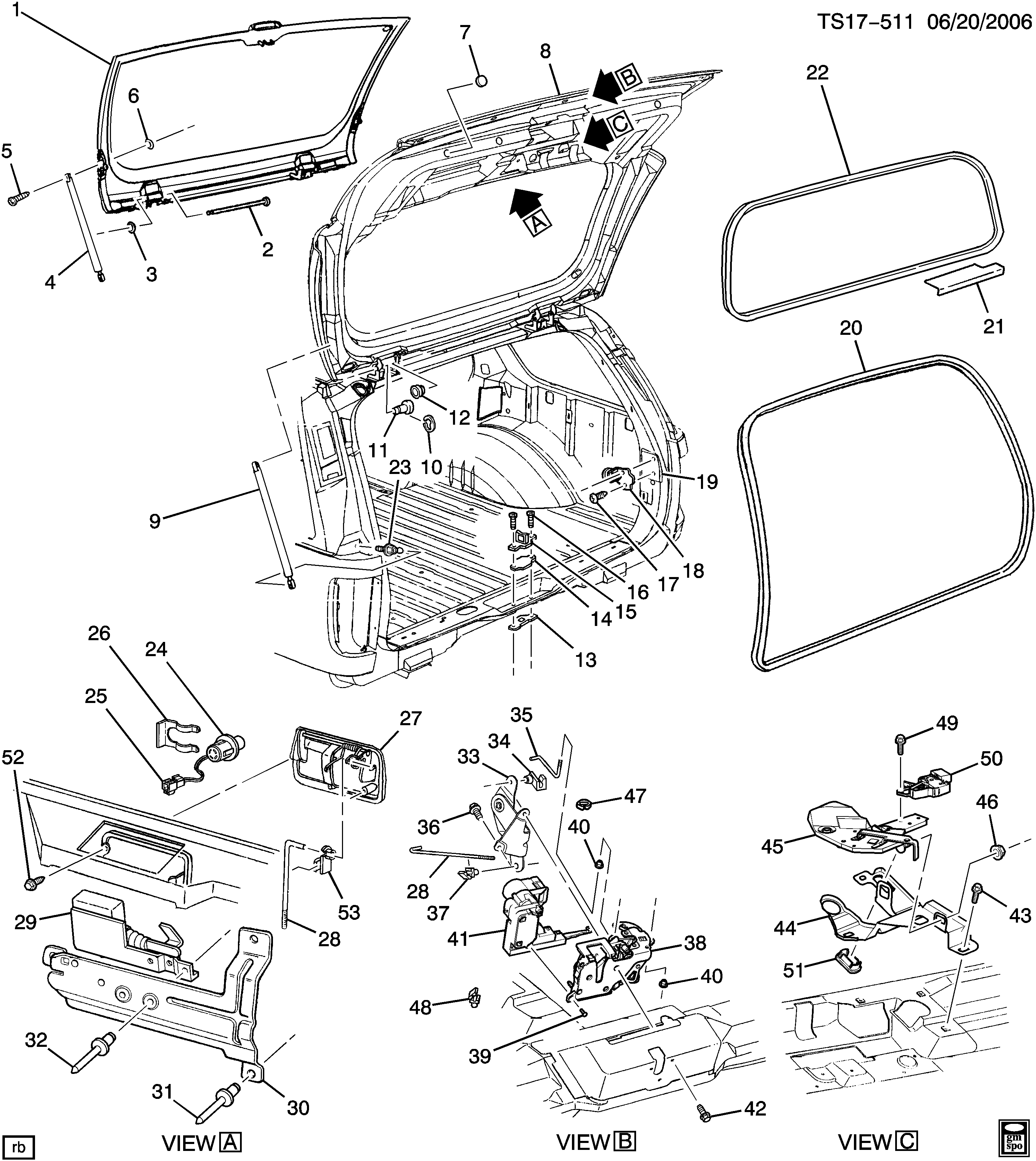 Liftgate Related Parts
