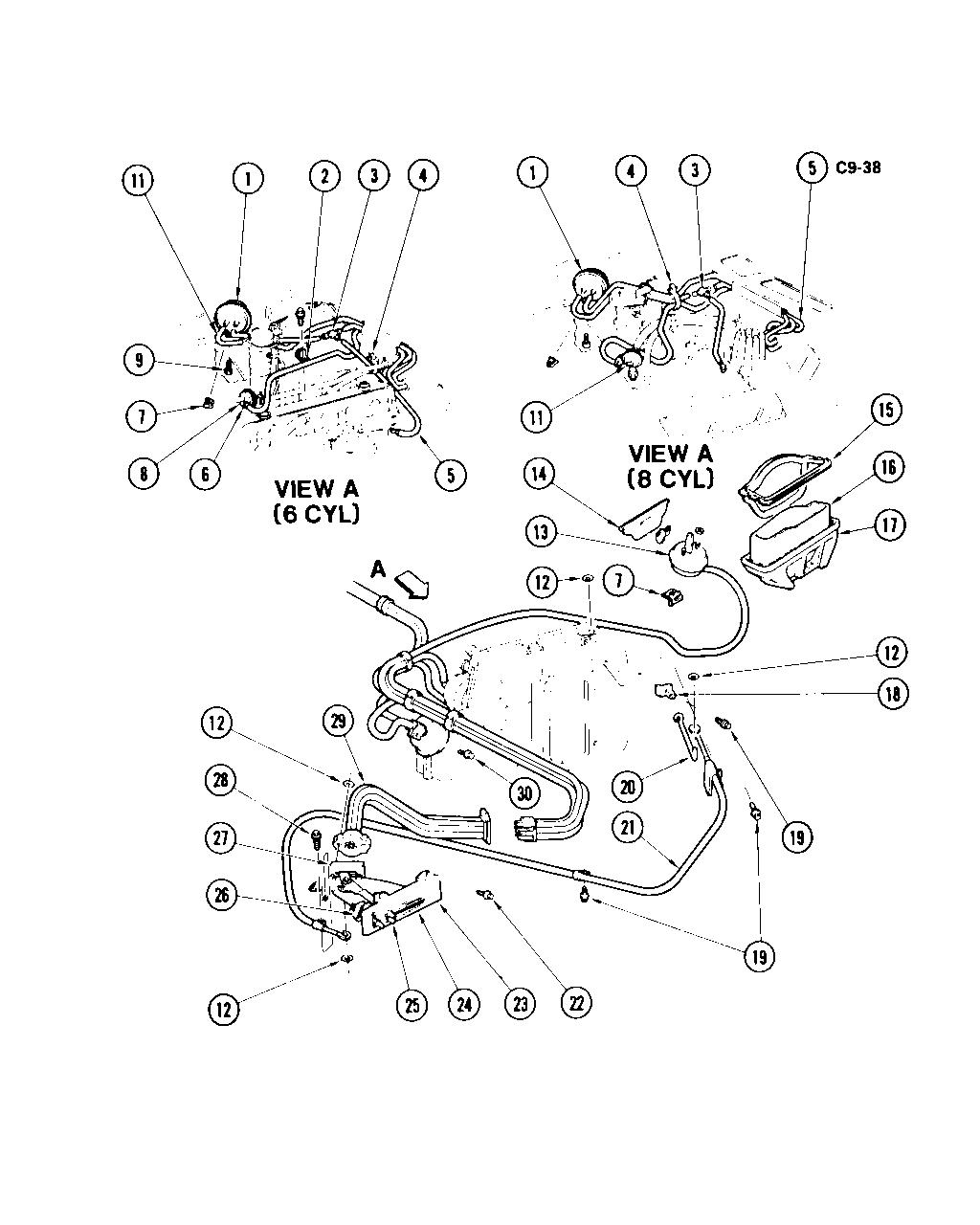 1965 El Camino Wiring Diagram