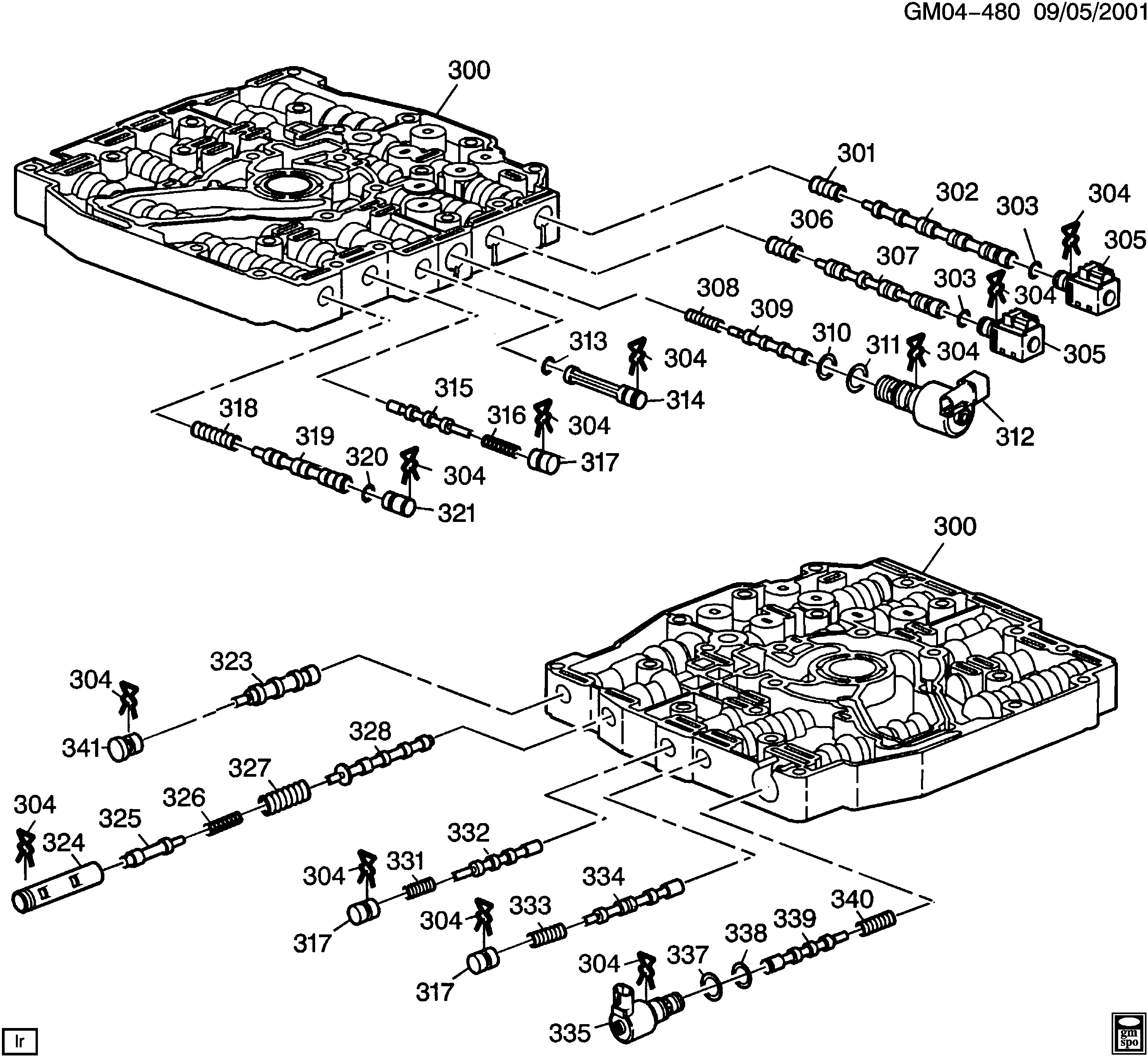 40t400e Diagram   Diagram & Symbol Wiring schematic chaos ...