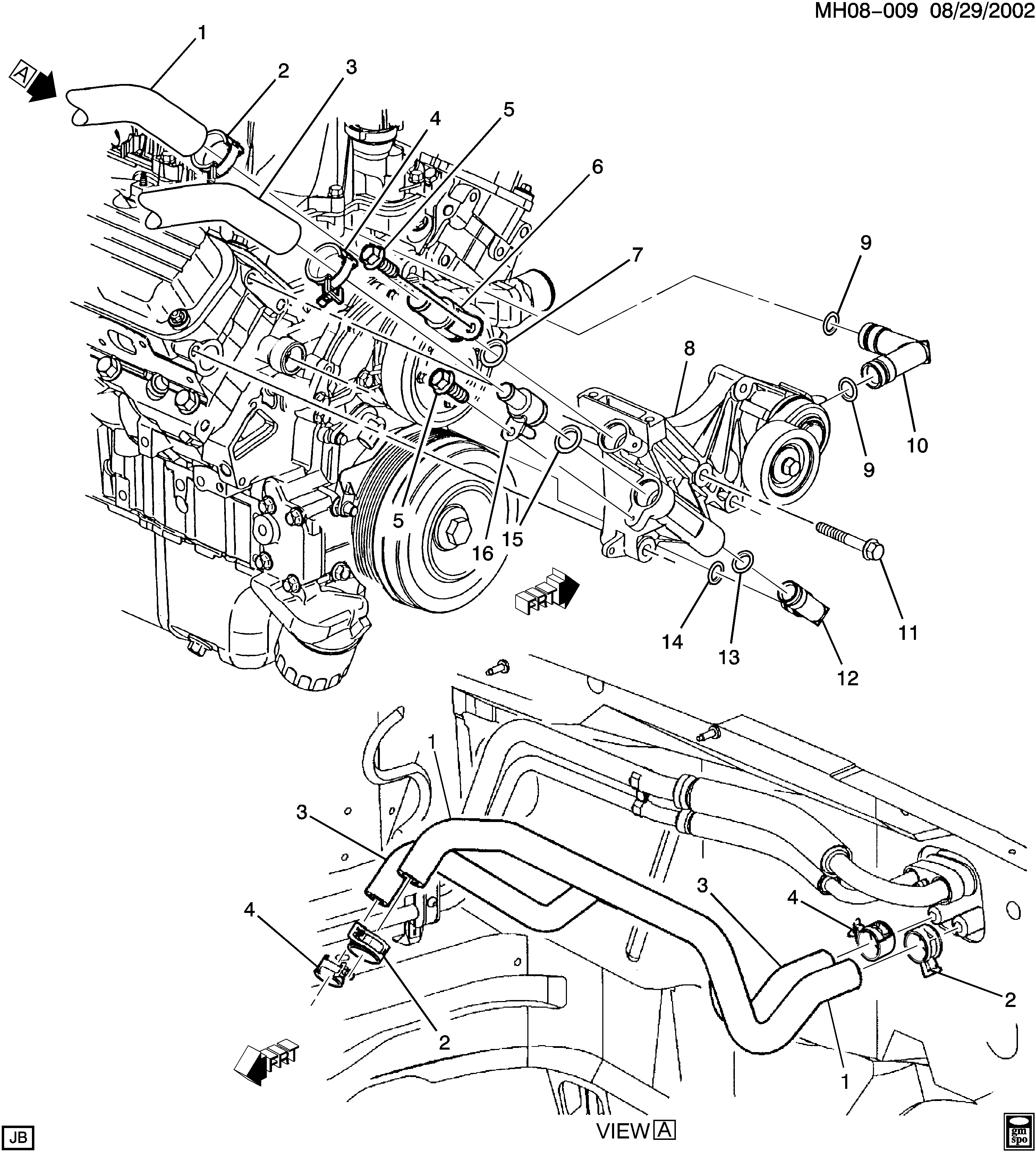 buick lucerne / spare parts catalog epc