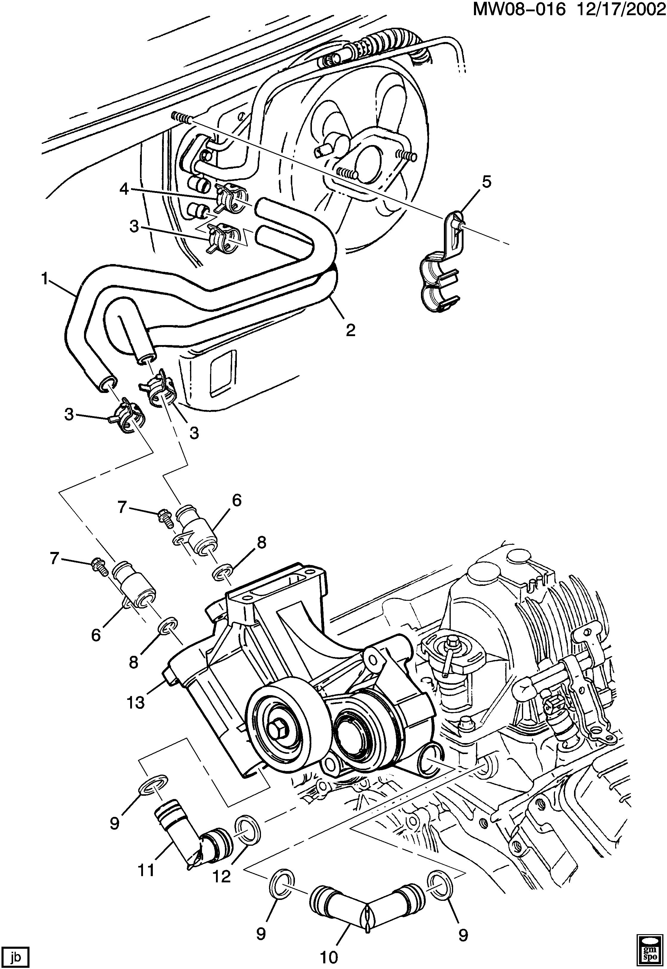 pontiac grand prix / spare parts catalog epc