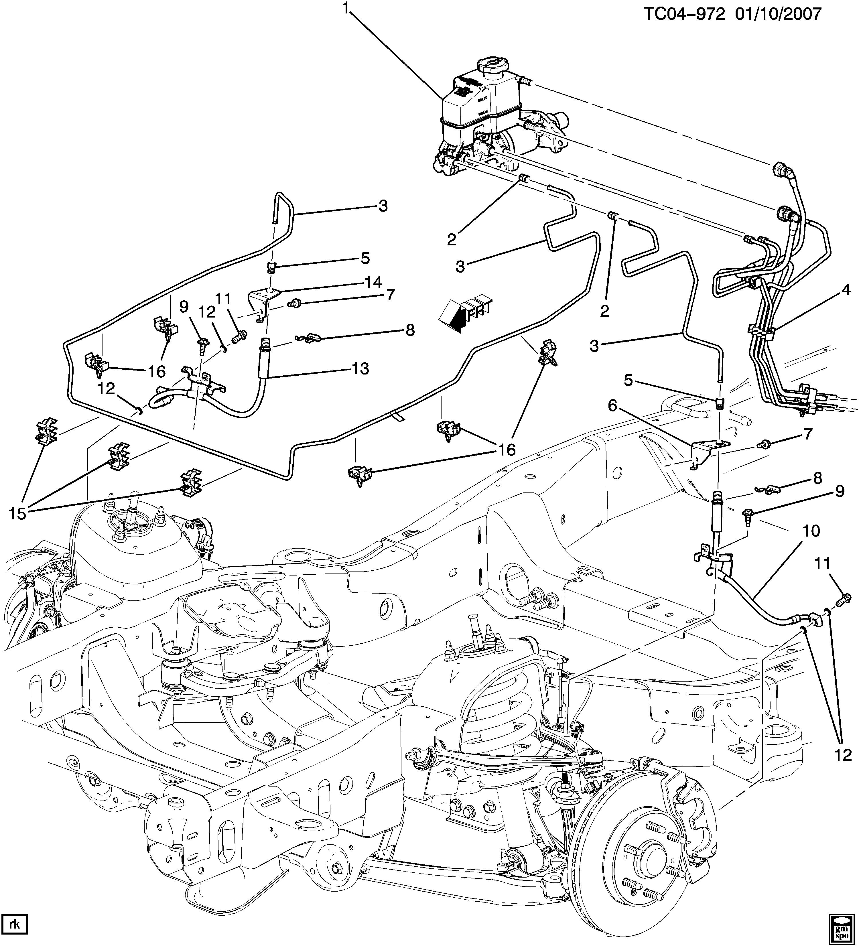 2006 Gmc Sierra Interior Parts