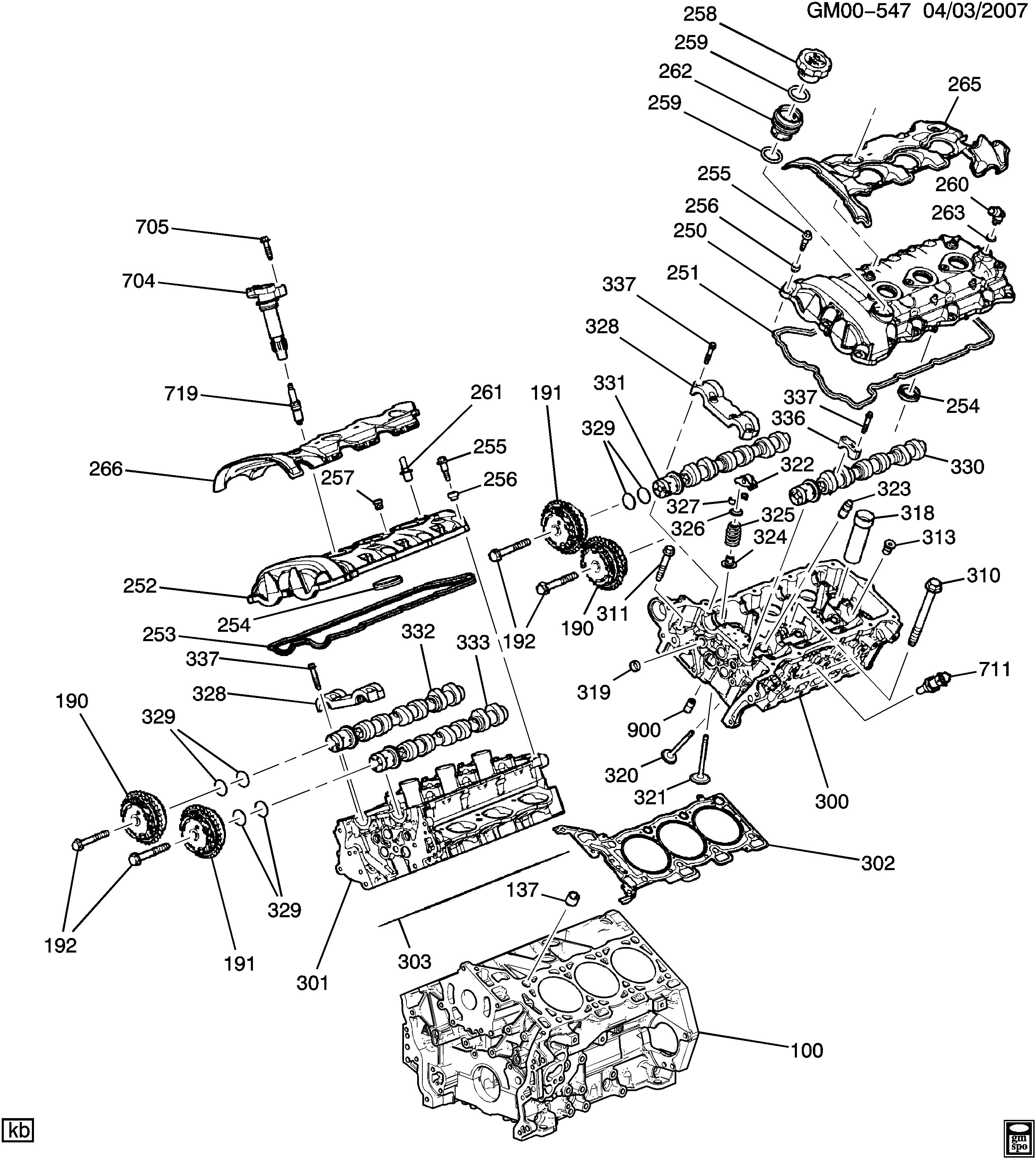 traverse engine diagram traverse  2wd  engine asm 3 6l v6 part 2 cylinder head   related  engine asm 3 6l v6 part 2 cylinder head