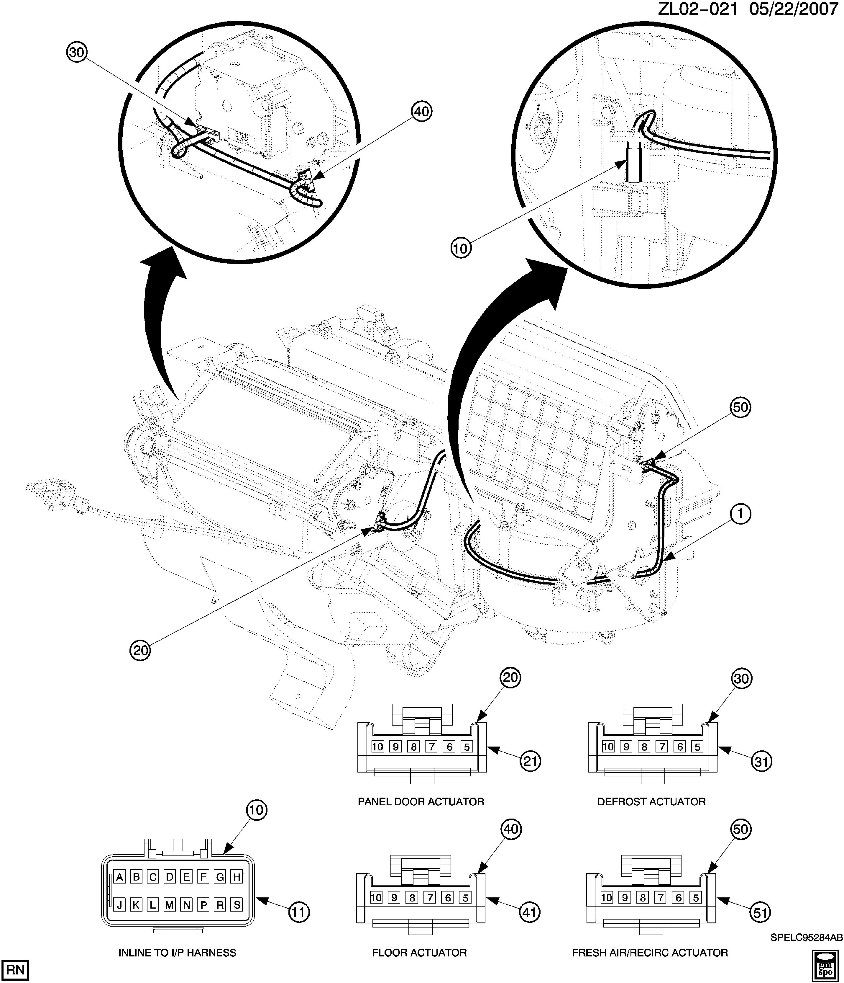 saturn vue hvac wiring diagram