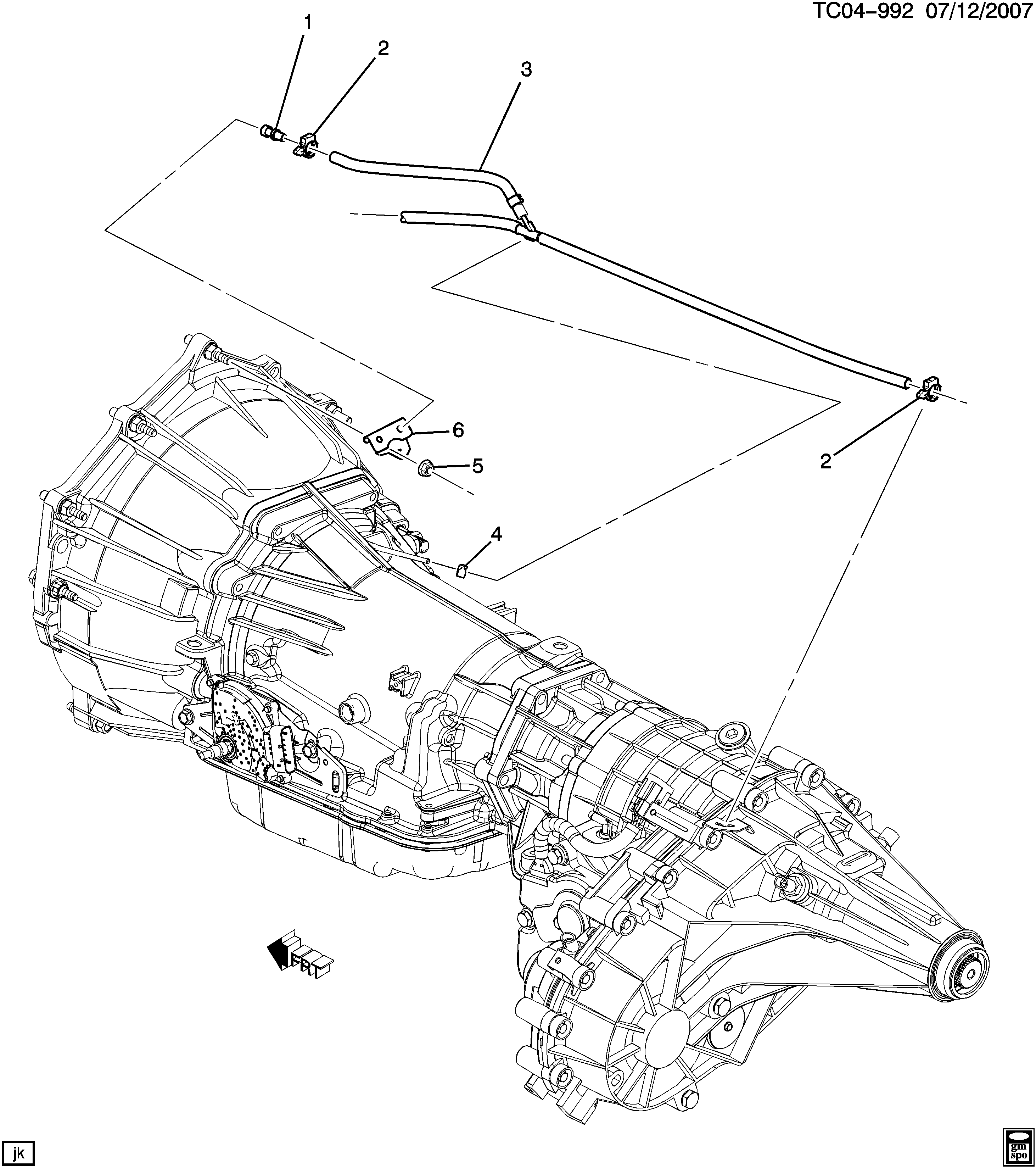 4l60 transmission diagram