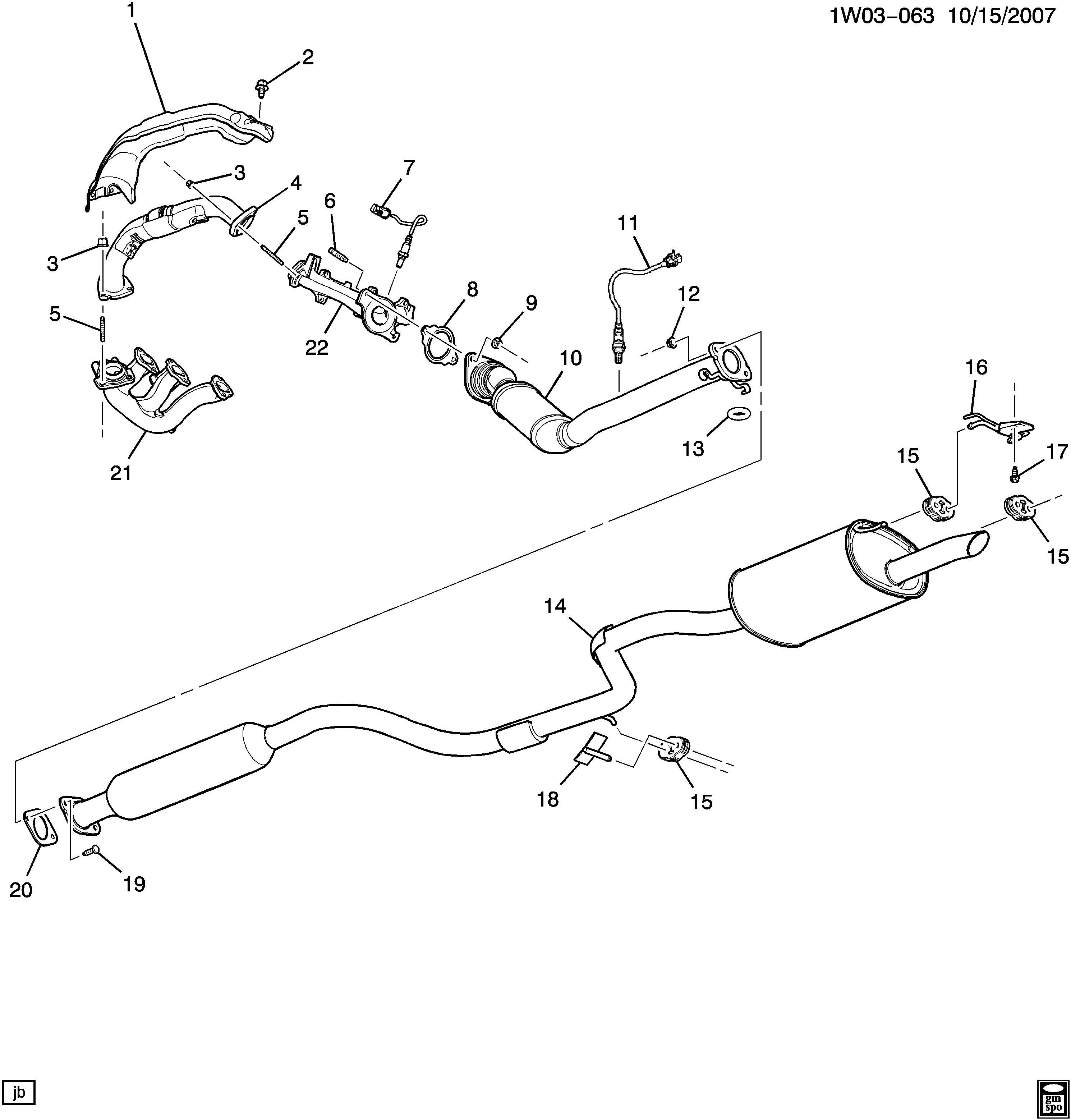2012 Chevy Impala Engine Diagram
