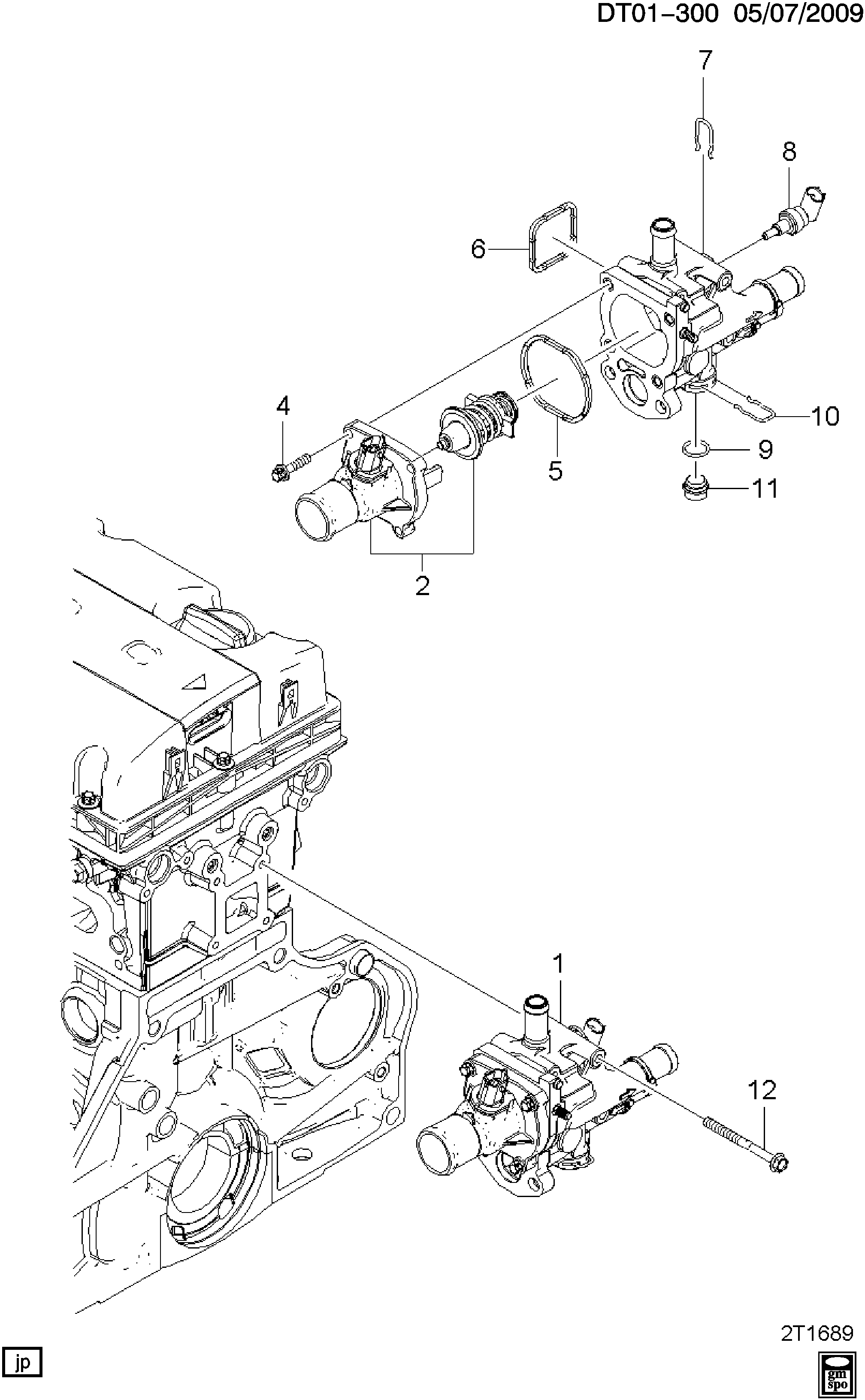 34 2009 Chevy Aveo Parts Diagram