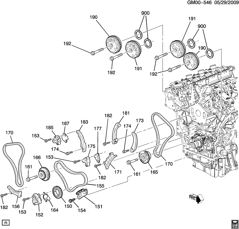 traverse engine diagram traverse  awd  engine asm 3 6l v6 part 3 timing chain  engine asm 3 6l v6 part 3 timing chain