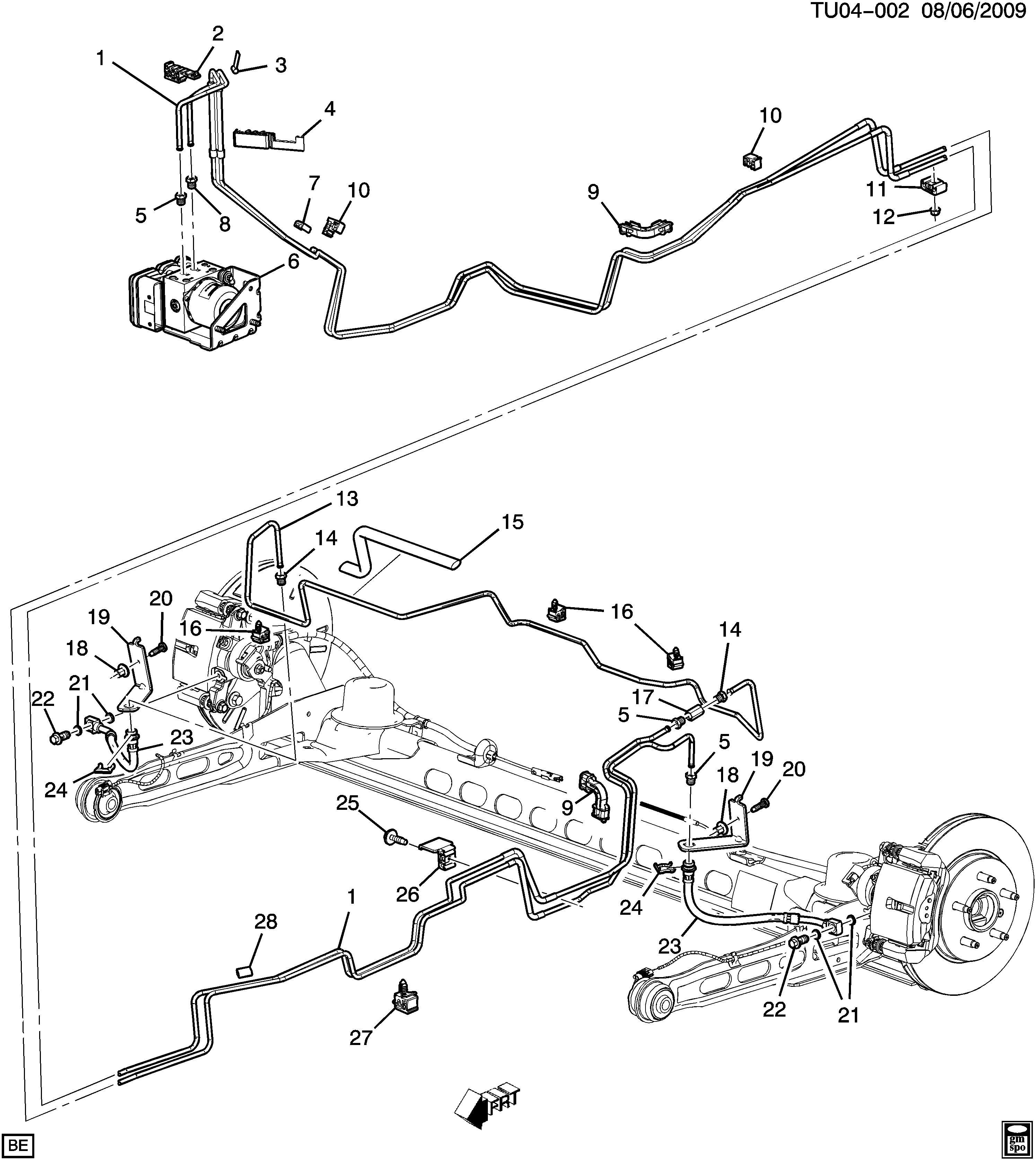 pontiac montana parts diagram