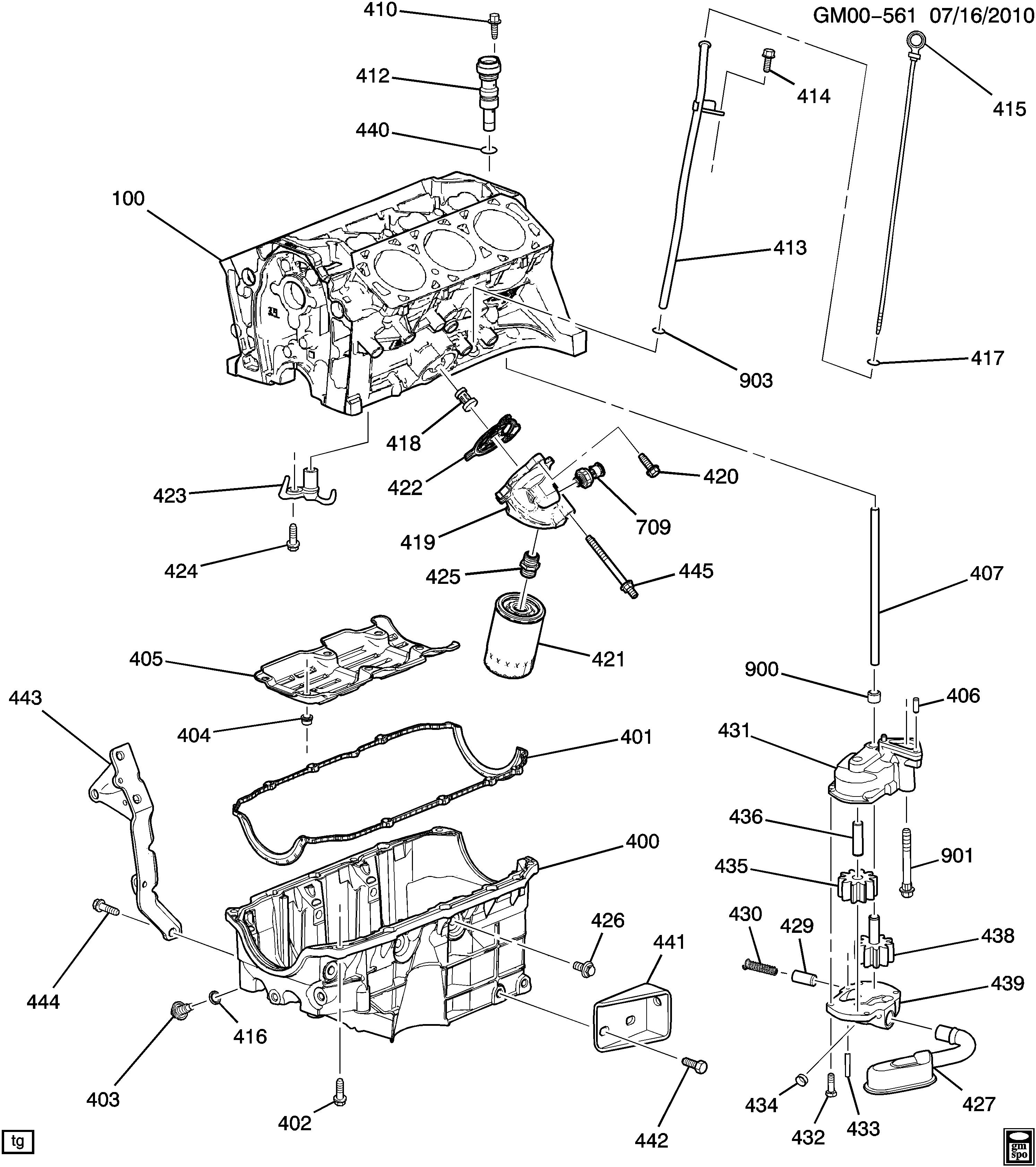 pontiac g6 z engine asm 3 9l v6 part 4 oil pump pan and. Black Bedroom Furniture Sets. Home Design Ideas