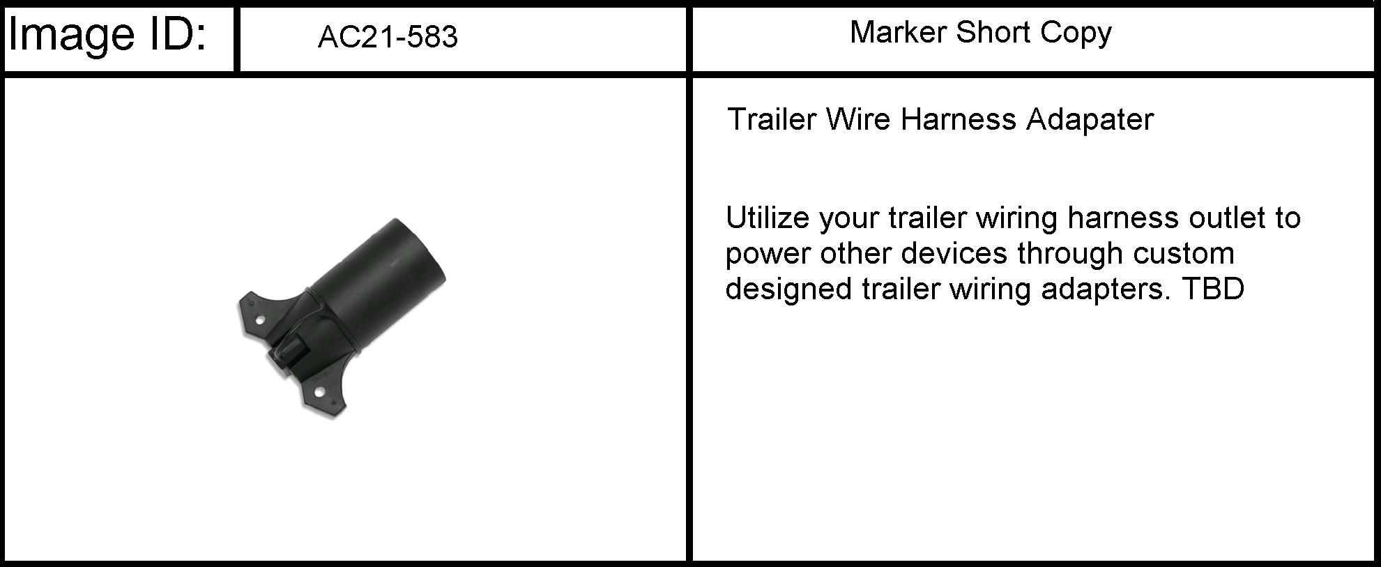 Gmc Acadia Awd Rv1 Paq Adaptador Arns Ratr De 7 Trailer Wiring Harness Recambios Autos Epc