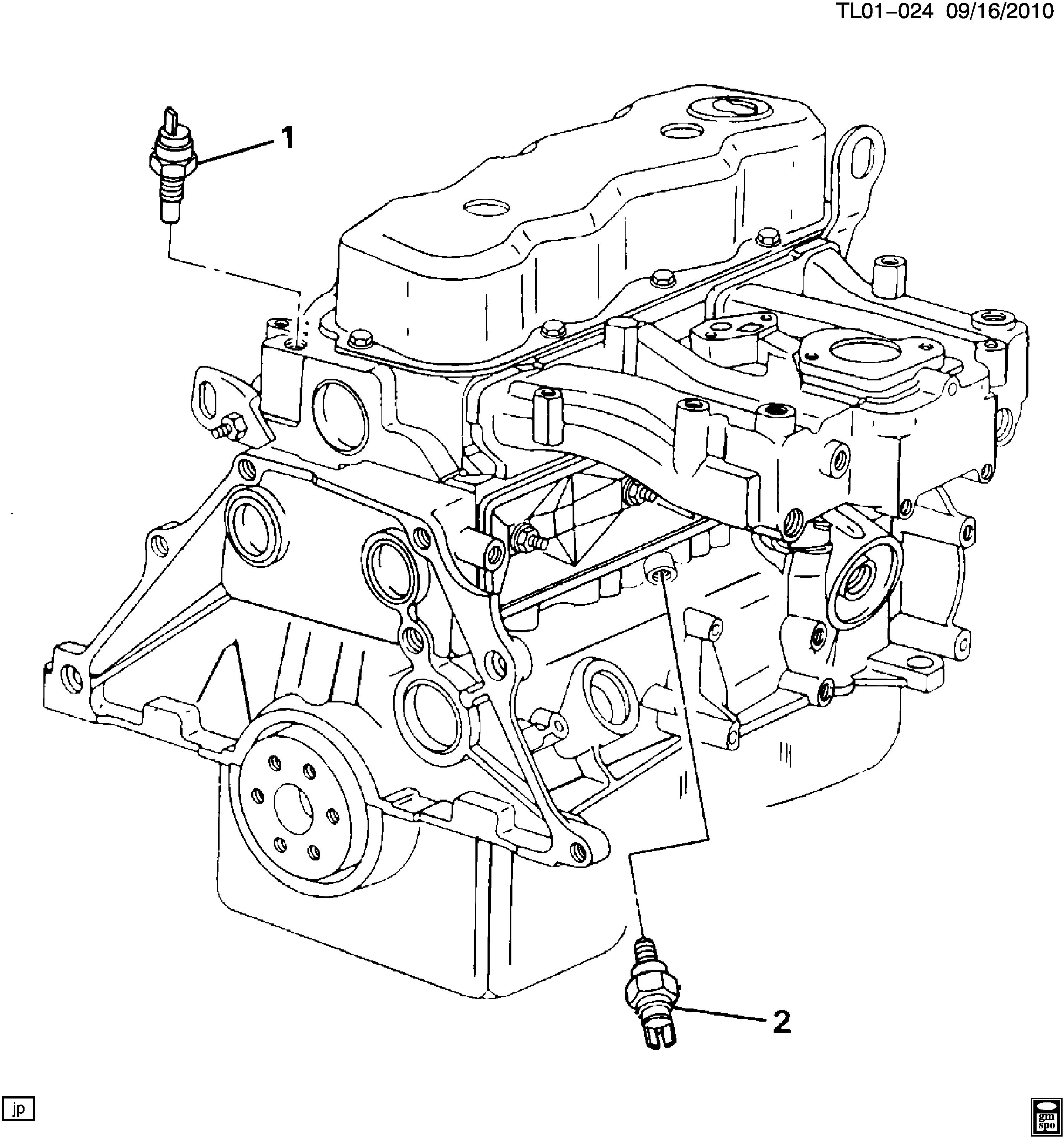 LLV (POSTAL VEHICLE) - Engine oil pressure & temperature switches >  Chevrolet EPC Online > Nemiga.comnemigaparts.com