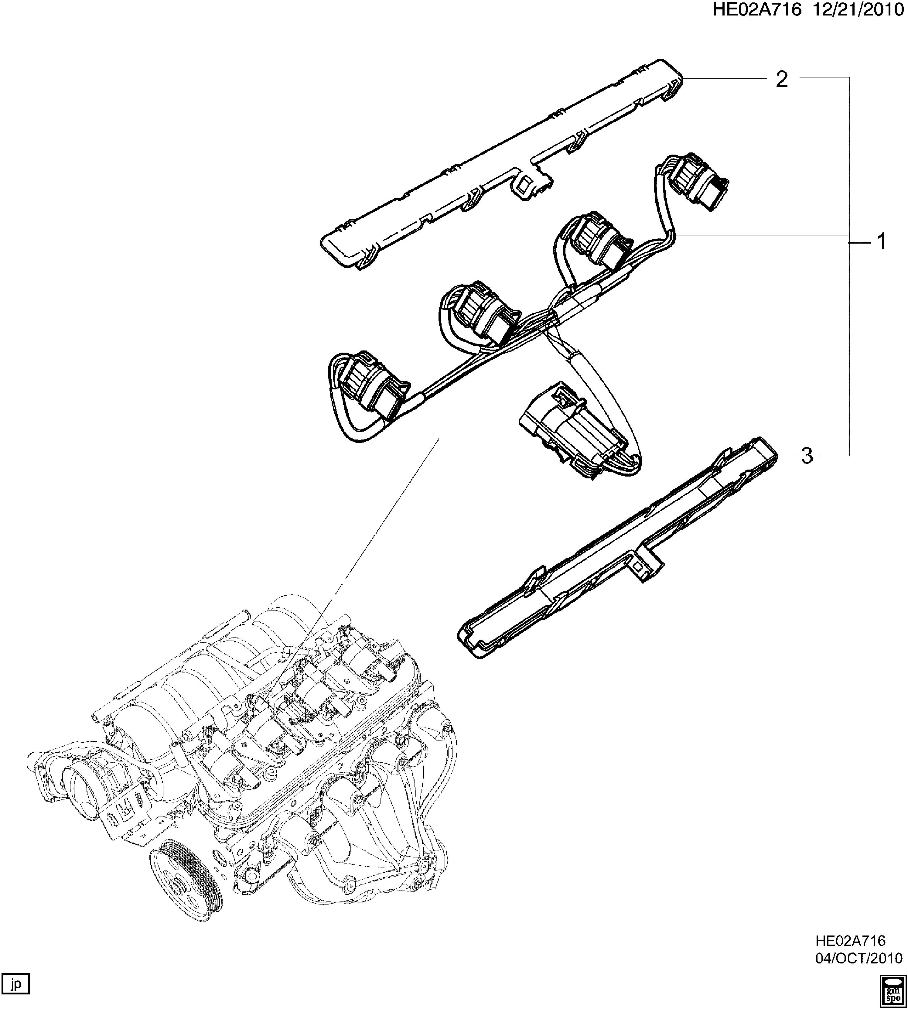 [DIAGRAM_5LK]  Pontiac G8 - E WIRING HARNESS/ENGINE-IGNITION COIL (L76/6.0Y) > EPC Online  > Nemiga.com | L76 Engine Diagram |  | nemigaparts.com