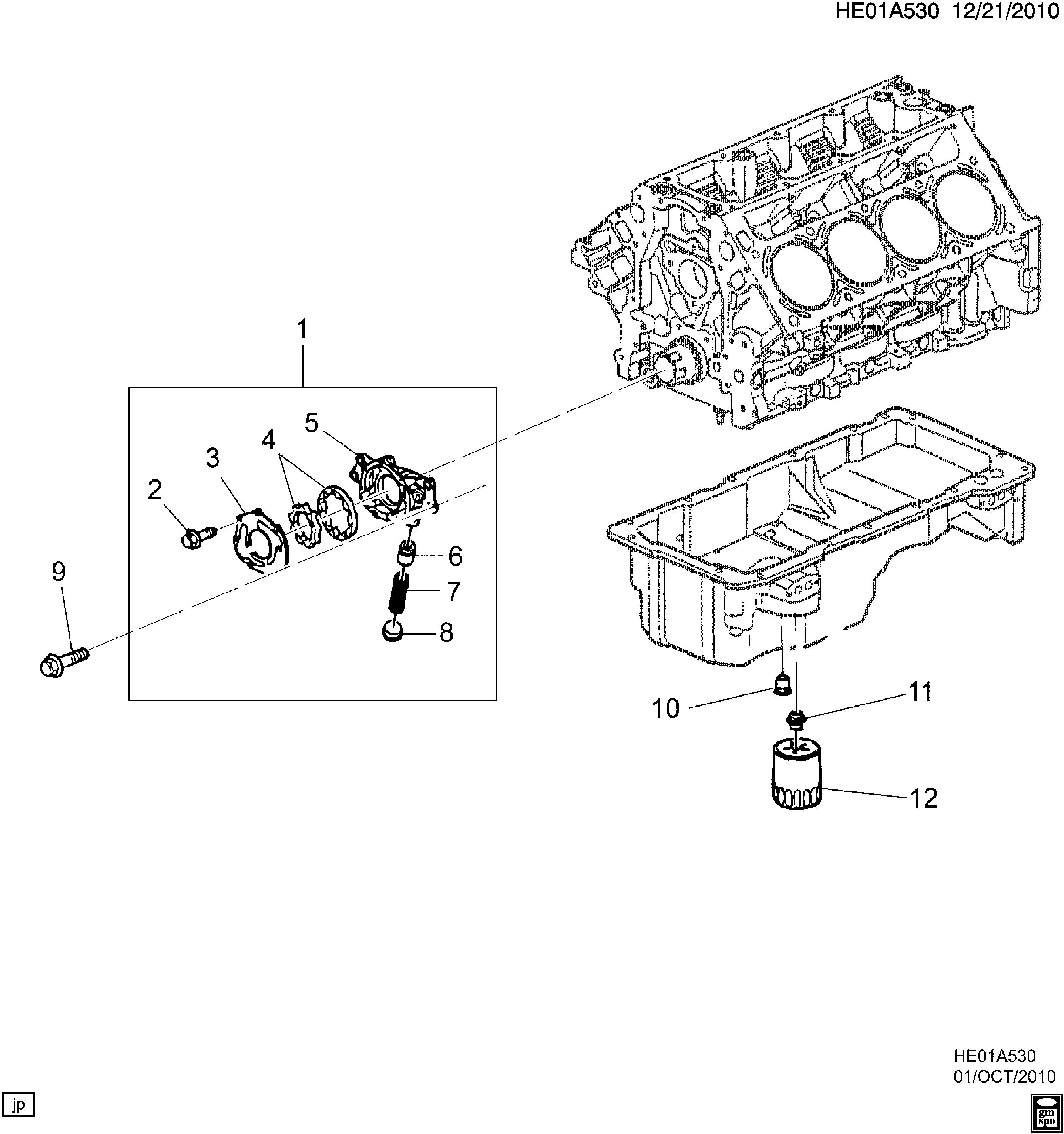 [DIAGRAM_38ZD]  Pontiac G8 - E ENGINE ASM-V8 OIL PUMP & FILTER (L76/6.0Y) > EPC Online >  Nemiga.com | L76 Engine Diagram |  | nemigaparts.com