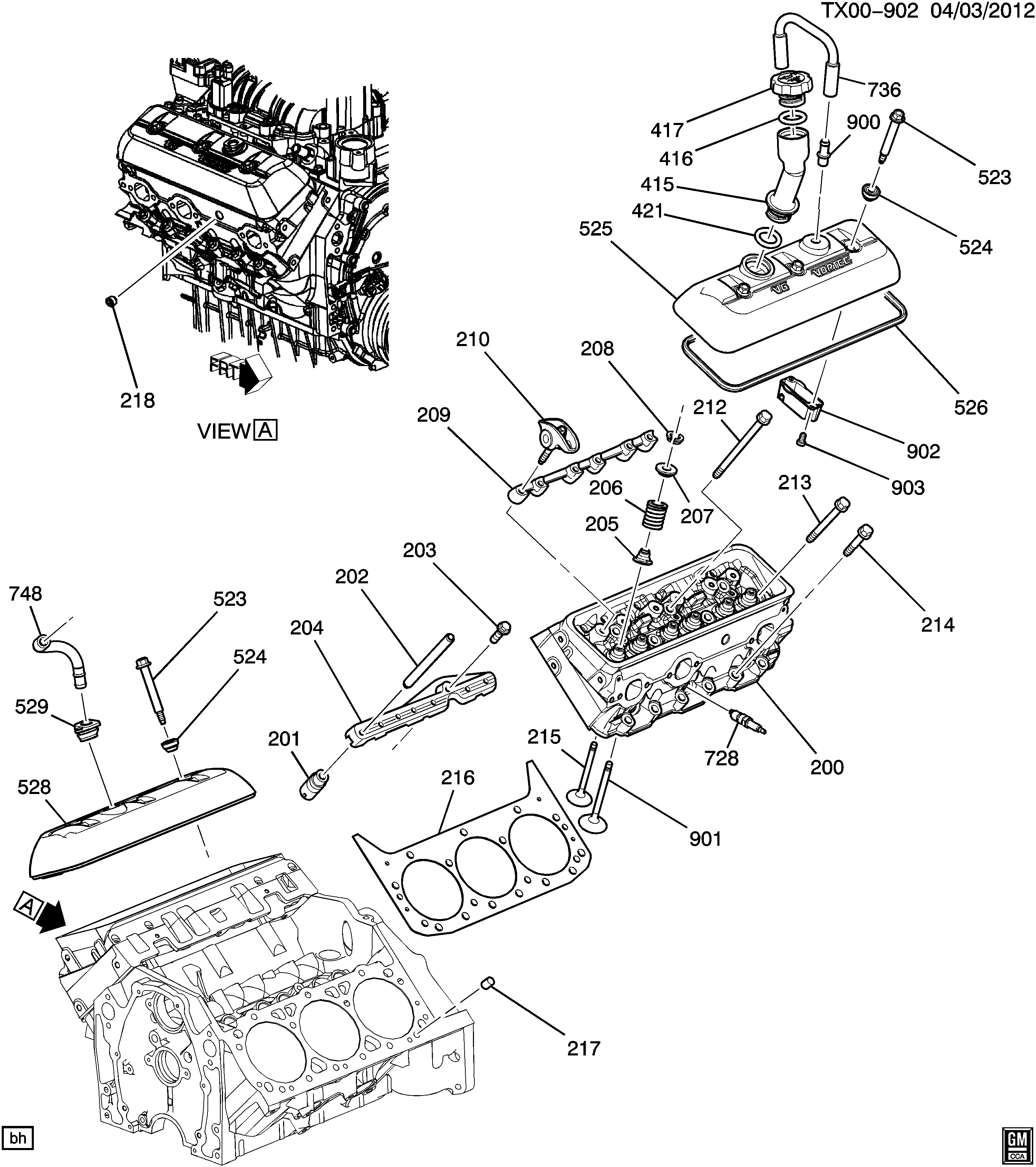 Chevy 4 3 V6 Engine Head Diagram - Wiring Diagram