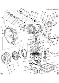GMC SIERRA 1500 - 03,43,53 Bodystyle (2WD) - 5-speed manual