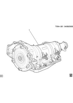 GMC SIERRA 1500 - 03,43,53 Bodystyle (4WD) New Style - 5-speed