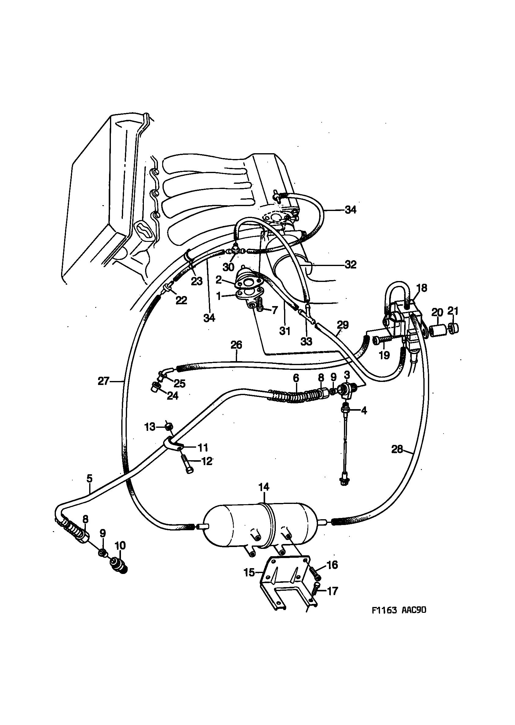 1990 Saab 900 Engine Diagram - Wiring Diagram Schema