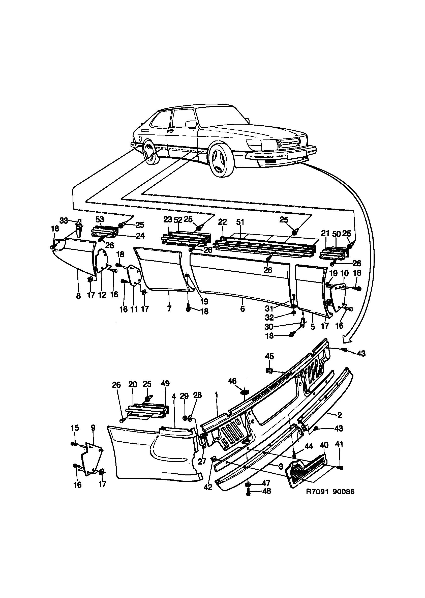 saab 900 aero kit spg 1986 1986 aero epc online Saab 5.3I saab 900 spare parts catalog epc