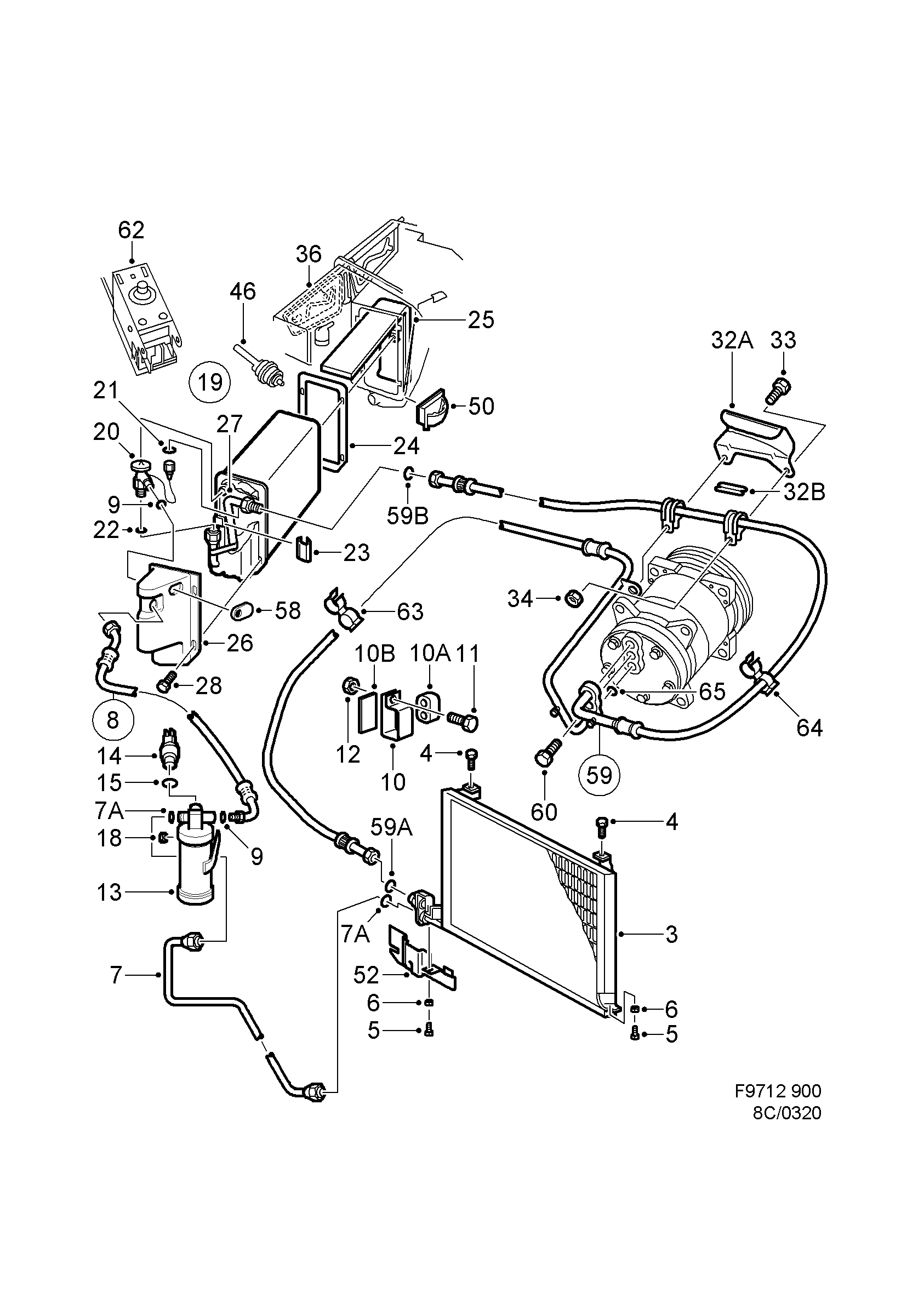 1990 Saab 900 Engine Diagram