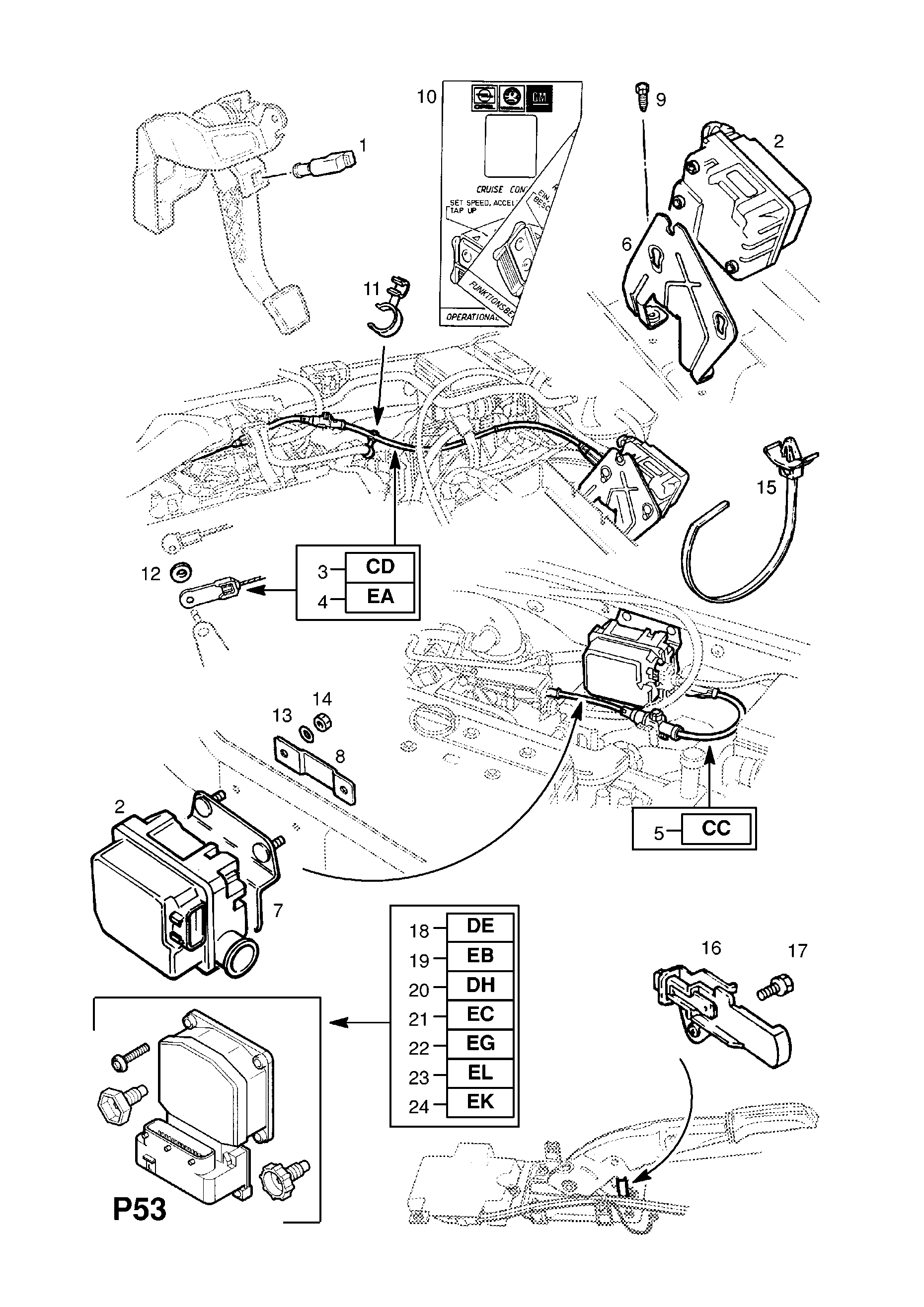 Opel Cruise Control Diagram Wiring Libraries Zafira Gsi Libraryopel Astra G A U003e Epc