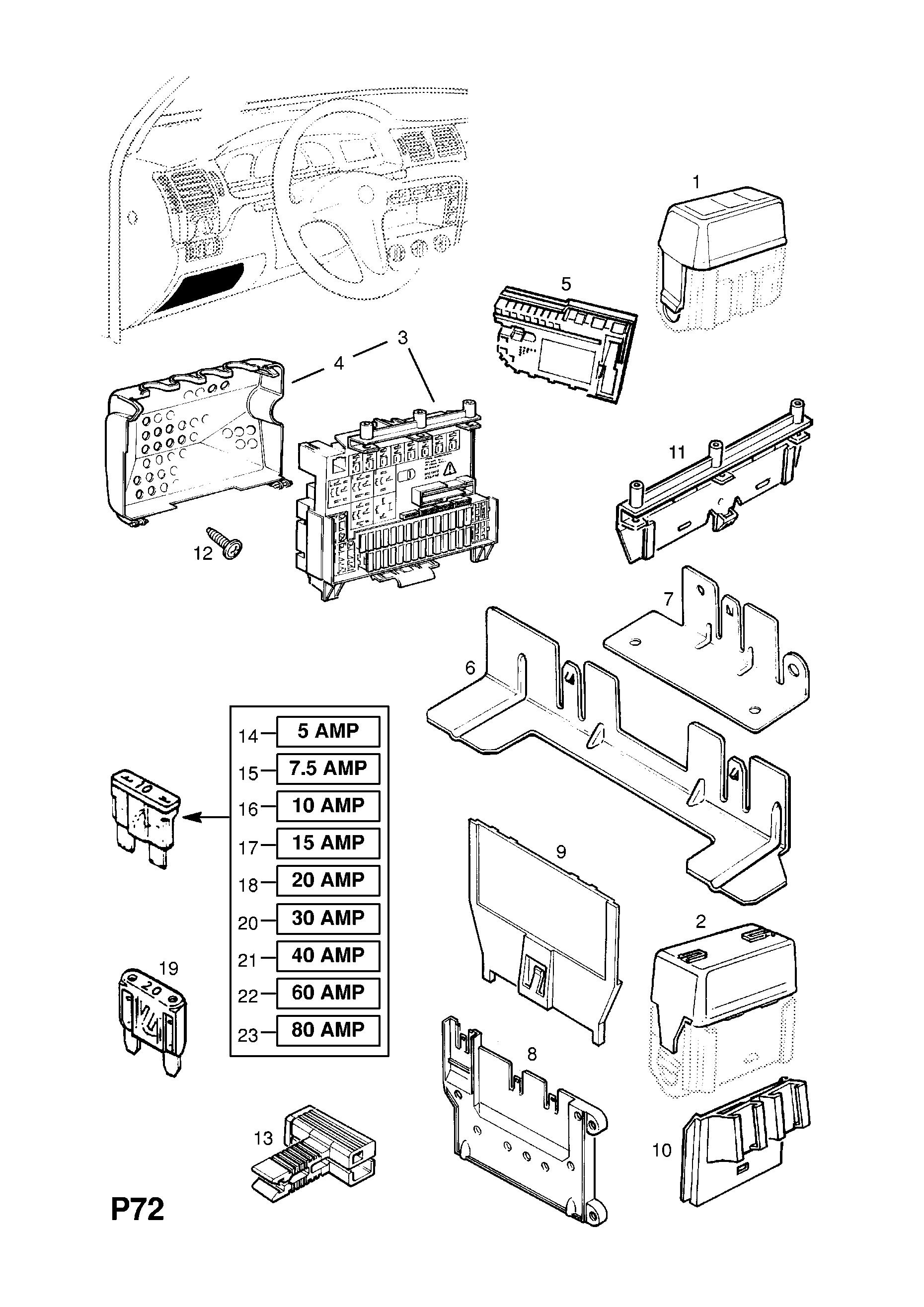 Epc Fuse Box Archive Of Automotive Wiring Diagram Opel Gt Vectra B U003e Online Nemigaparts Com Rh