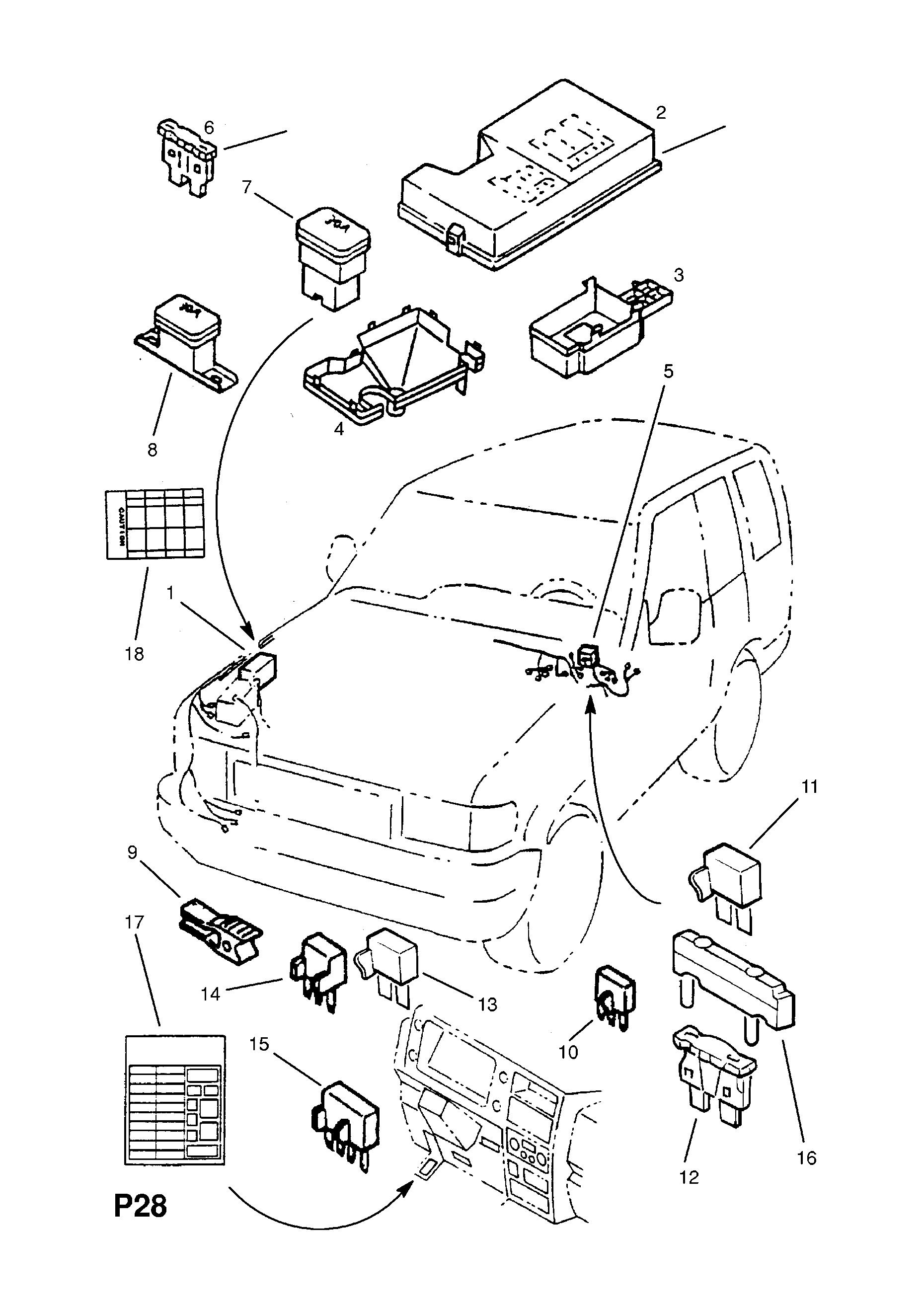 Vauxhall MONTEREY / Spare parts catalog EPC