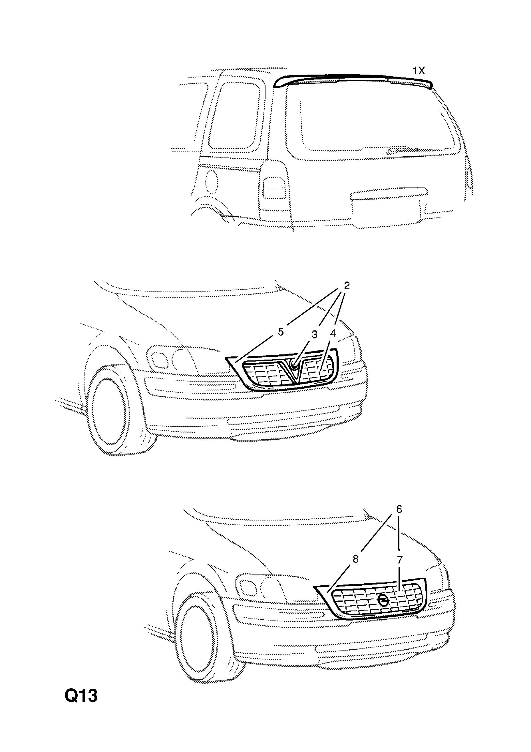 parasassi-parasale anteriore sinistro Spare Parts SP-HO31265S