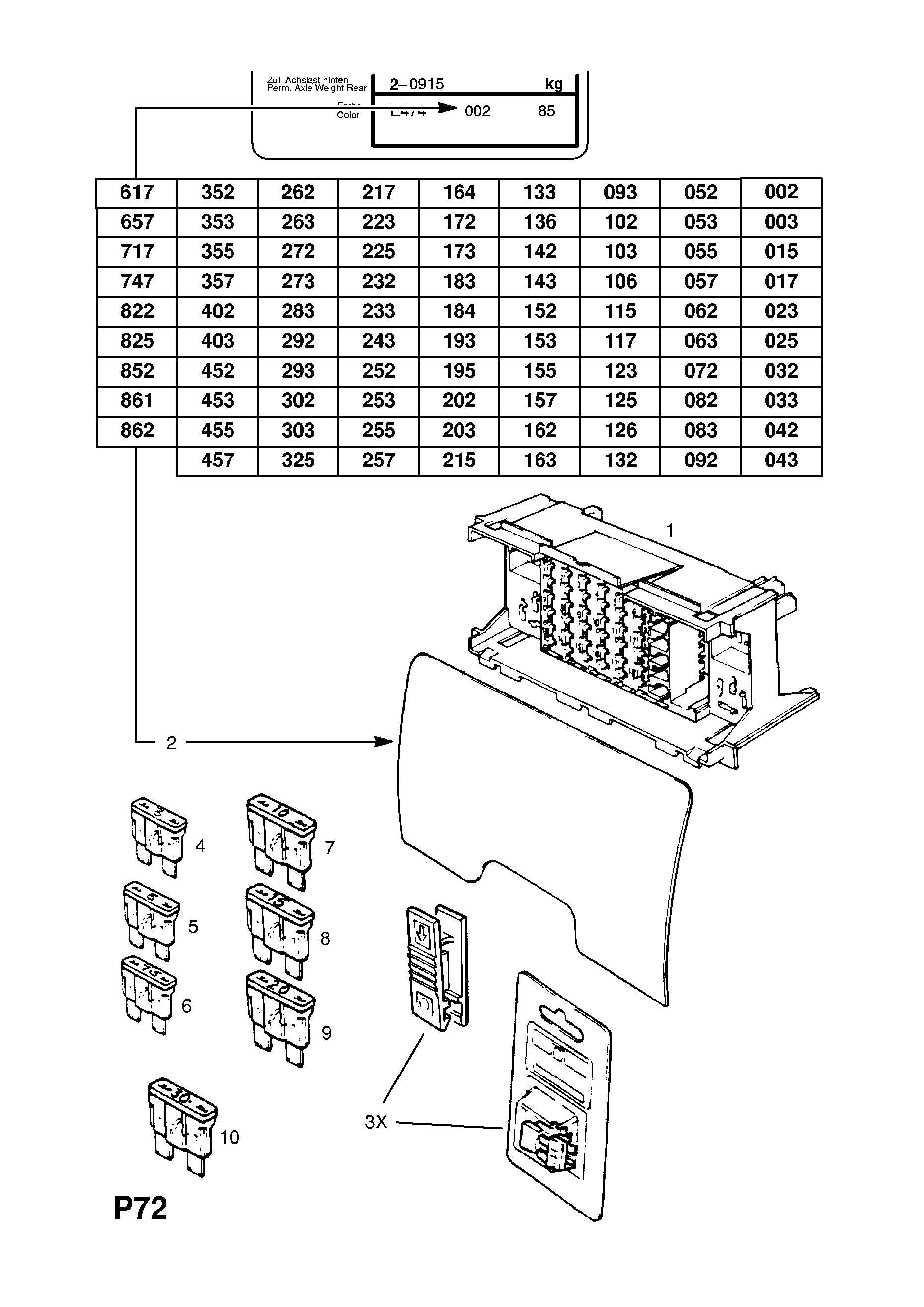 Opel Fuse Box Wiring Diagram