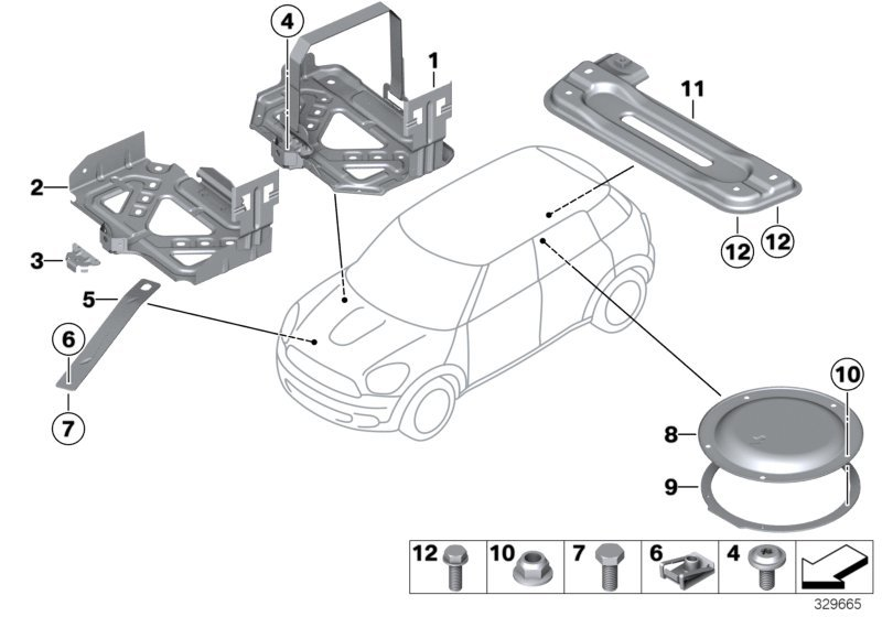 Mini Cooper Body Parts Diagram