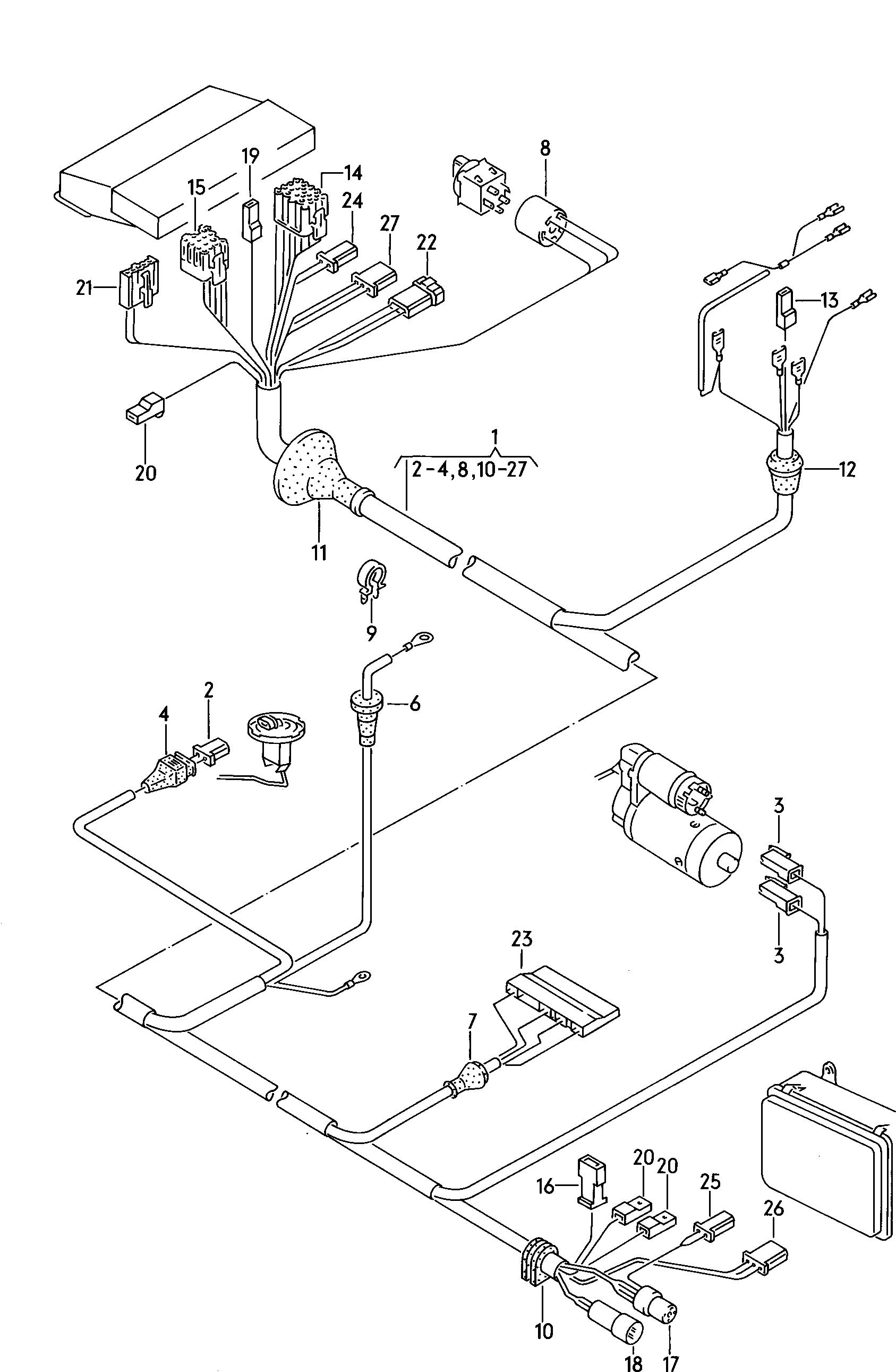 Vanagon Fuse Box
