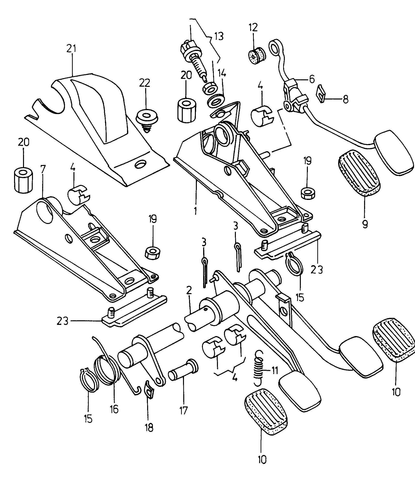 JP Center left Gearbox Engine Mounting Fits SKODA Felicia Wagon 6U0199555